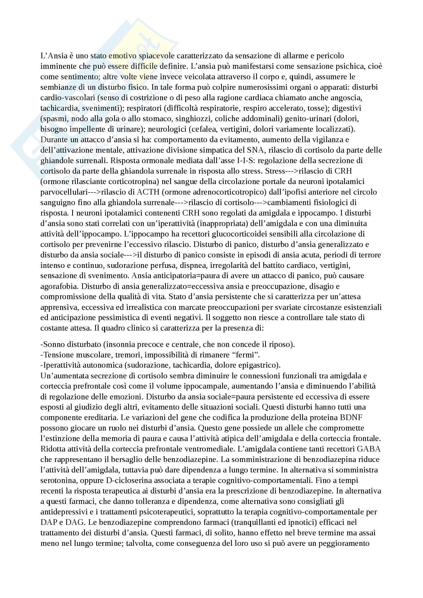 Psicologia fisiologica Pag. 16