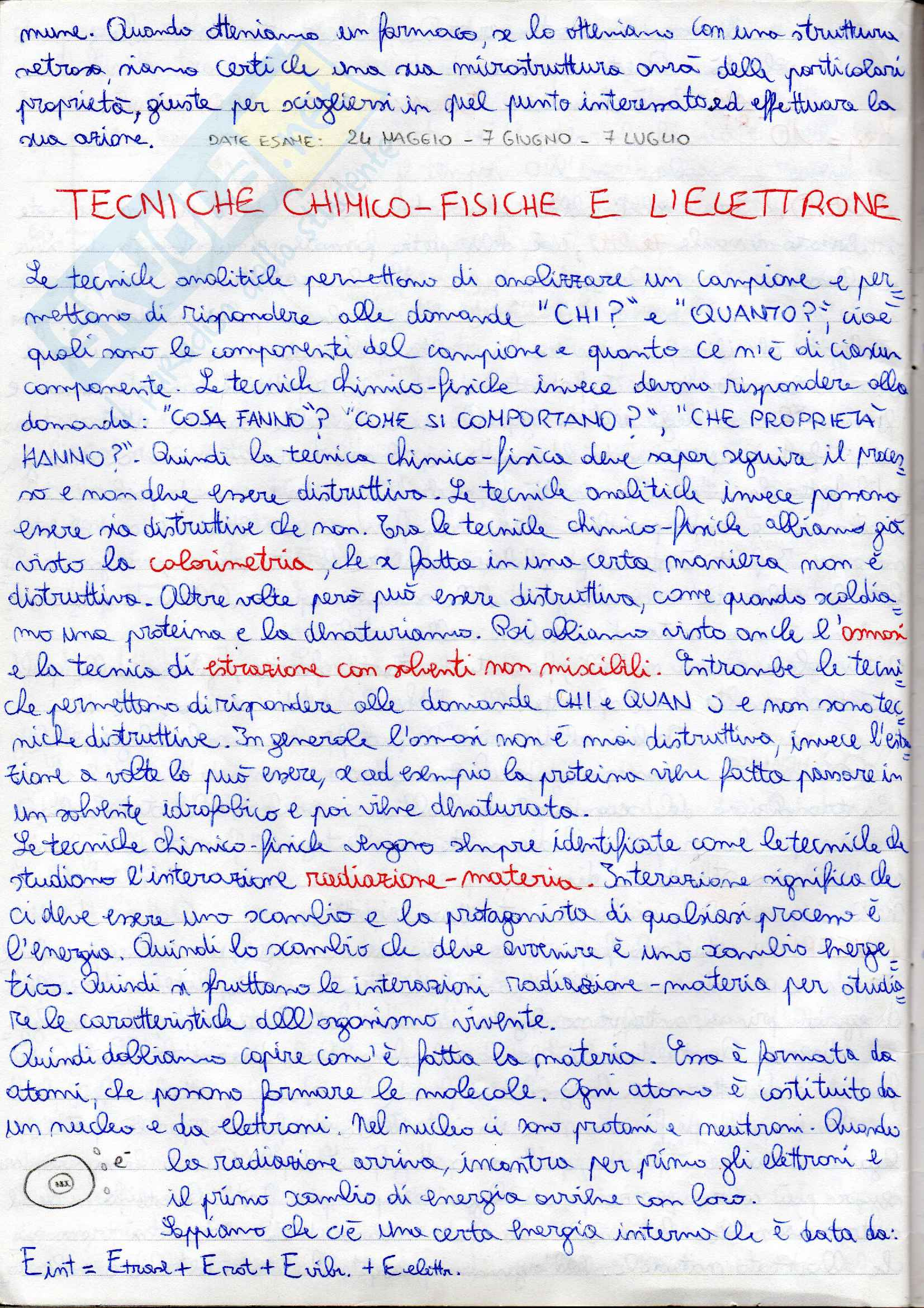 Chimica fisica parte 2 Pag. 1