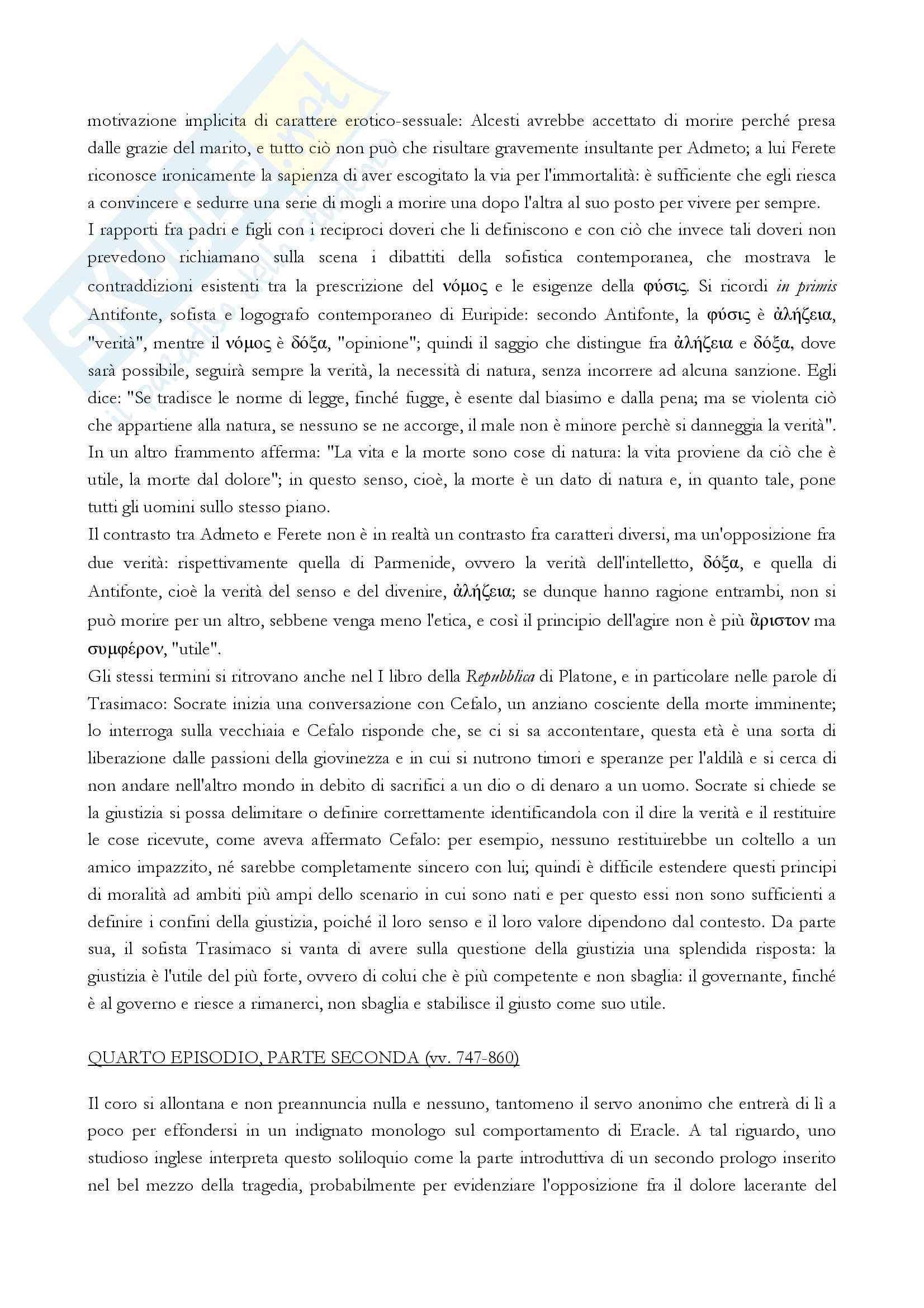 Alcesti, Euripide Pag. 11