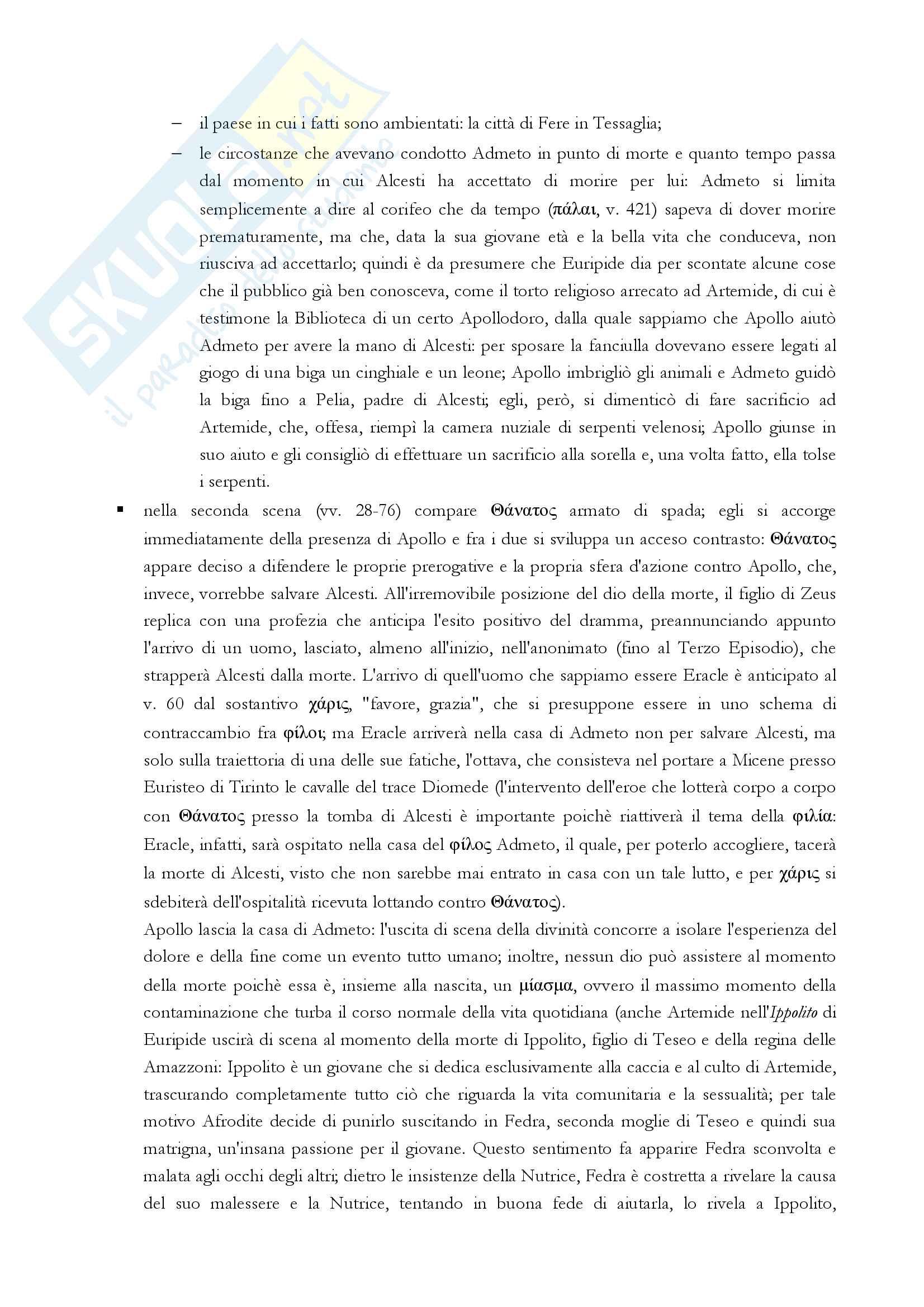 Alcesti, Euripide Pag. 2