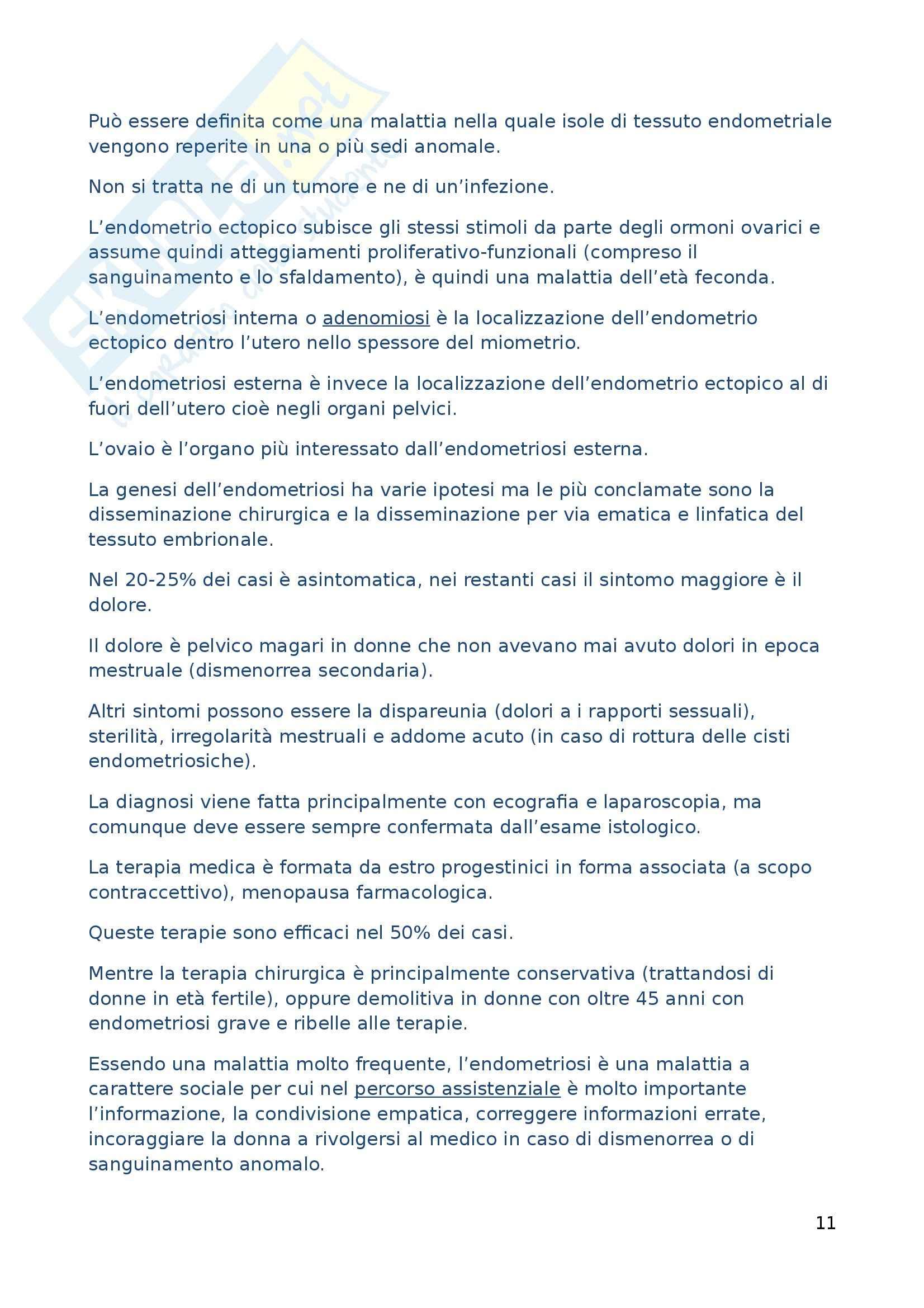 Scienze Infermieristiche Generali e Teorie del Nursing - Appunti Pag. 11