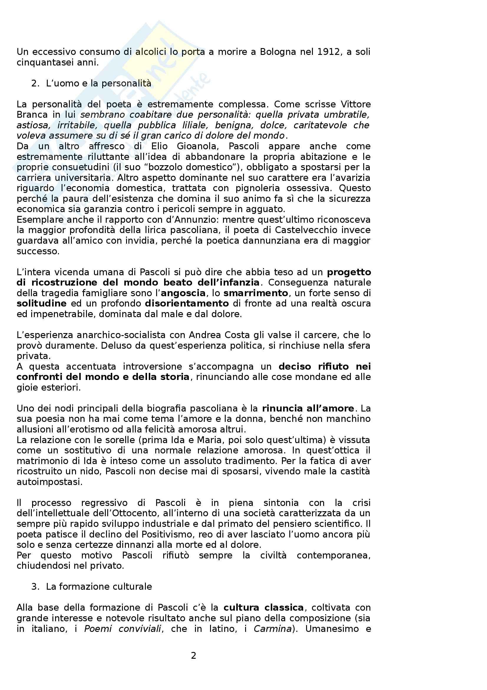 Riassunto esame Letteratura Italiana, prof. Boggione, libro consigliato Storia ed Antologia della Letteratura, Barberi Squarotti Pag. 2