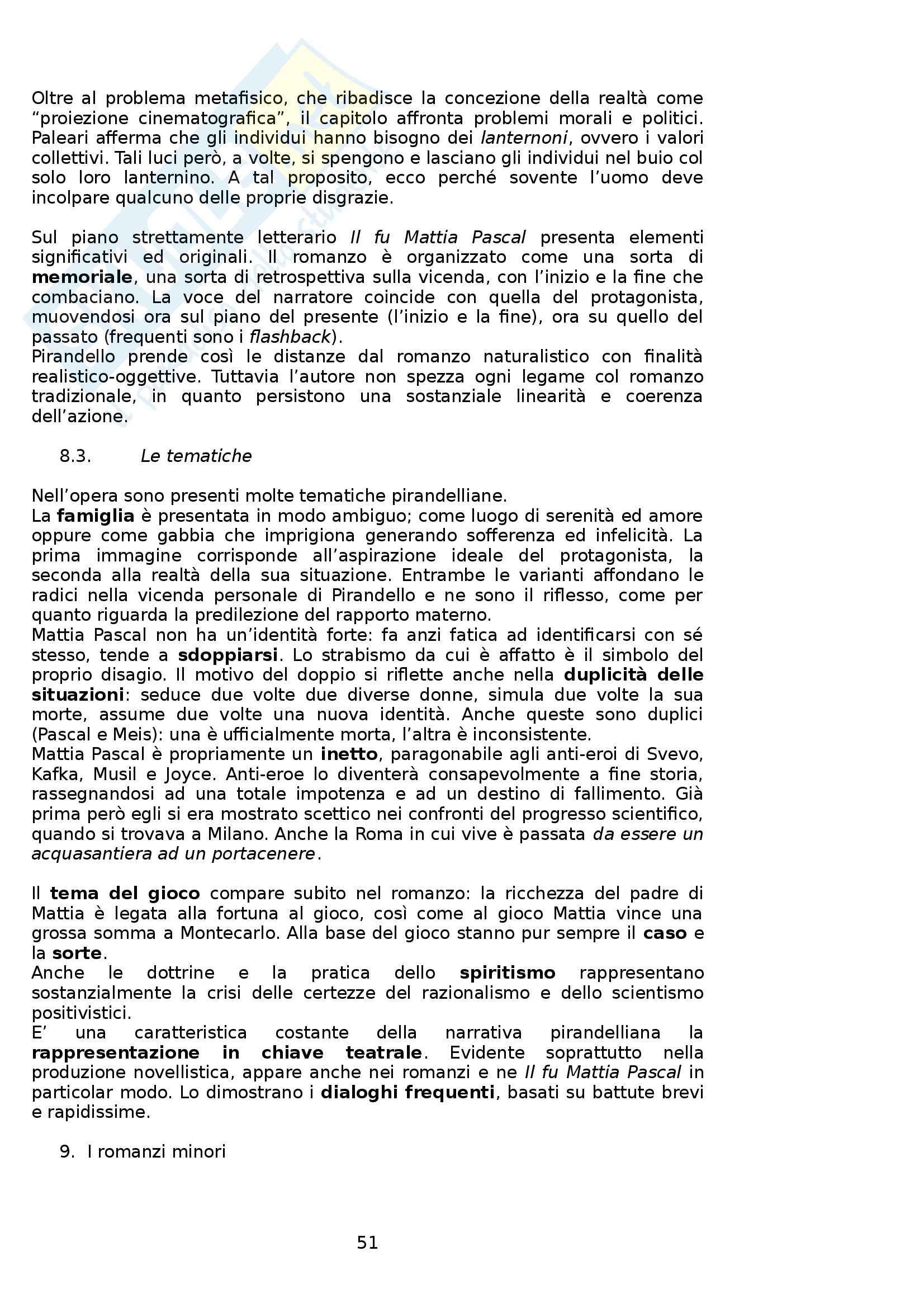 Riassunto esame Letteratura Italiana, prof. Boggione, libro consigliato Storia ed Antologia della Letteratura, Barberi Squarotti Pag. 51