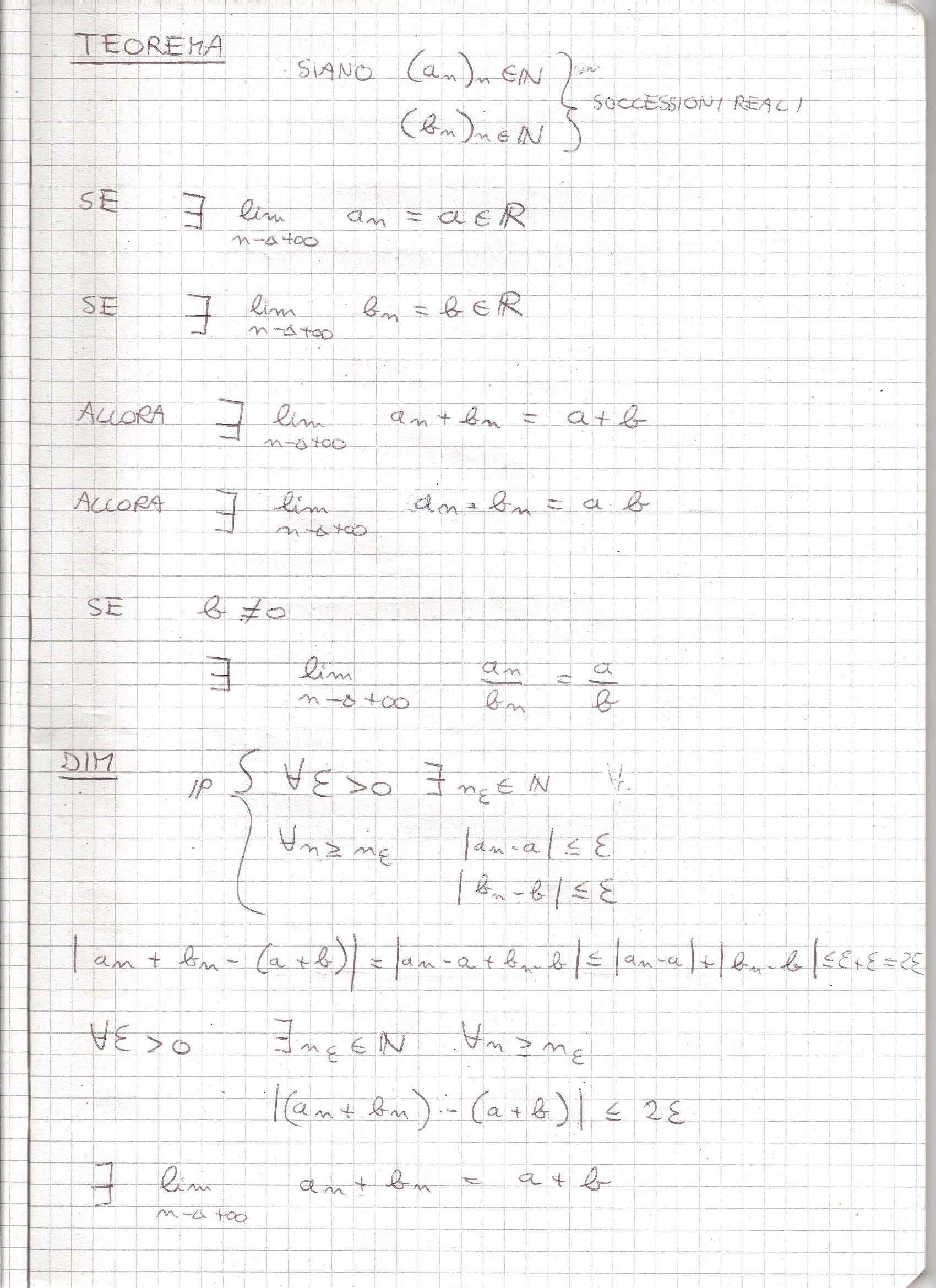 Analisi Matematica - Appunti Pag. 21