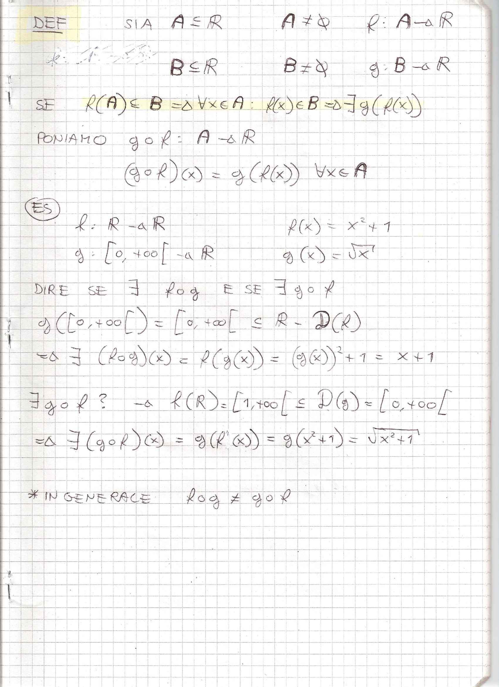 Analisi Matematica - Appunti Pag. 41