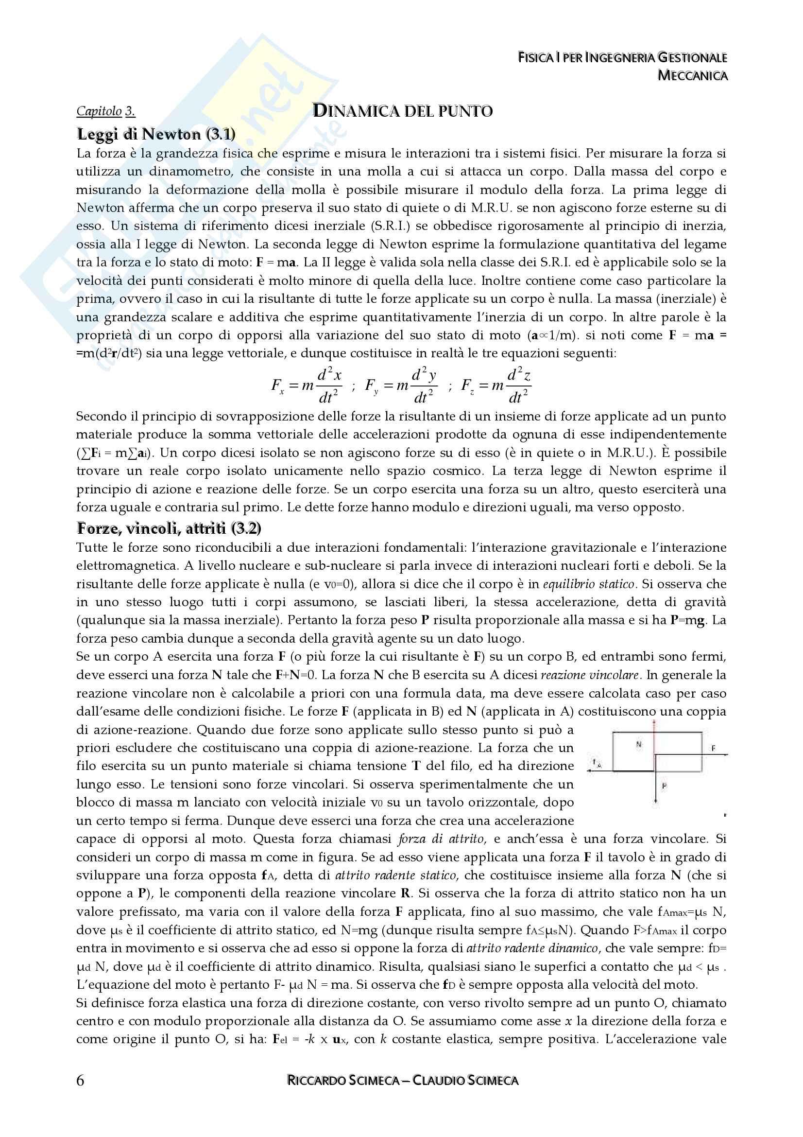 Fisica I - Meccanica, fluidomeccanica e Termodinamica Pag. 11