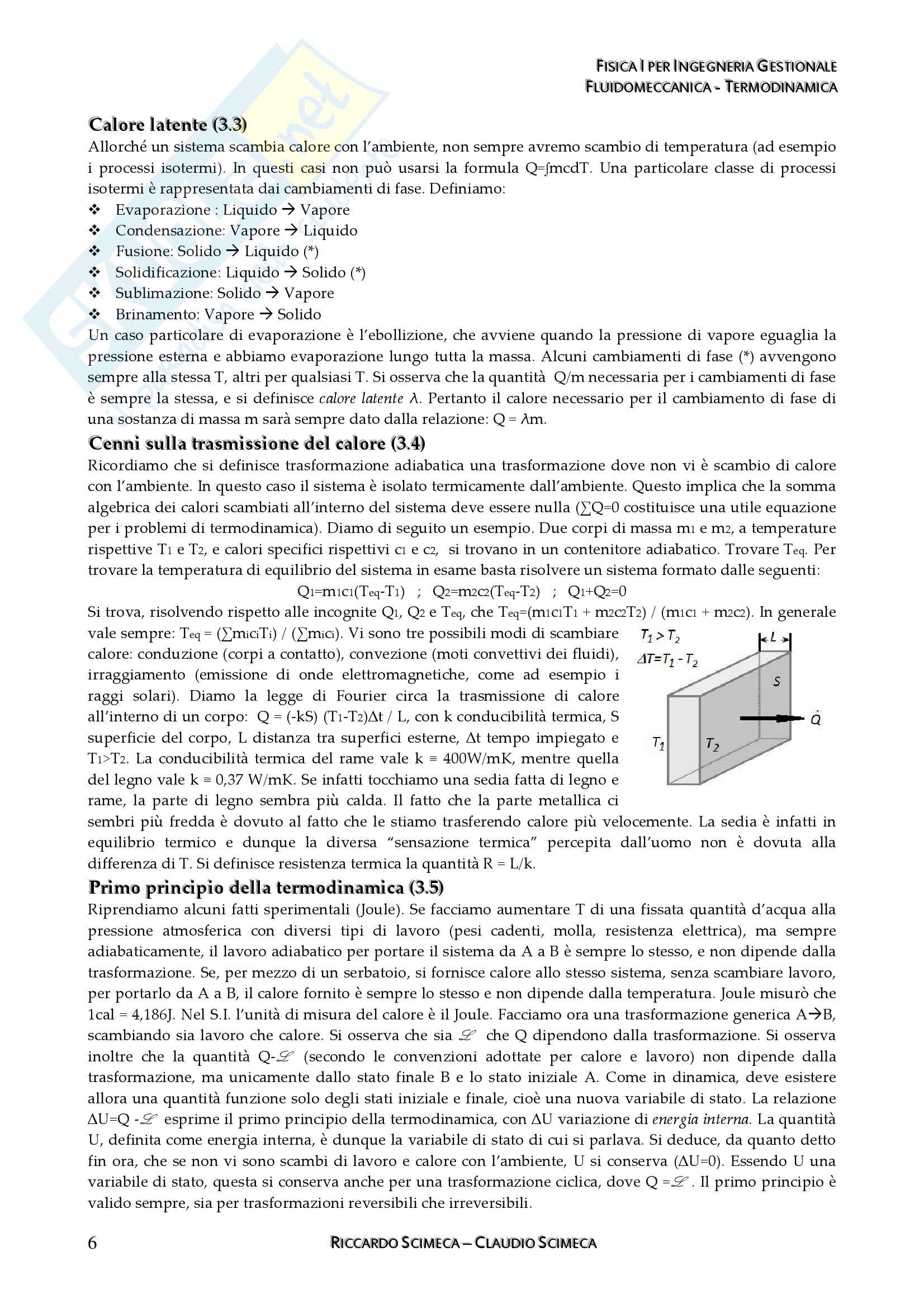 Fisica I - Meccanica, fluidomeccanica e Termodinamica Pag. 26