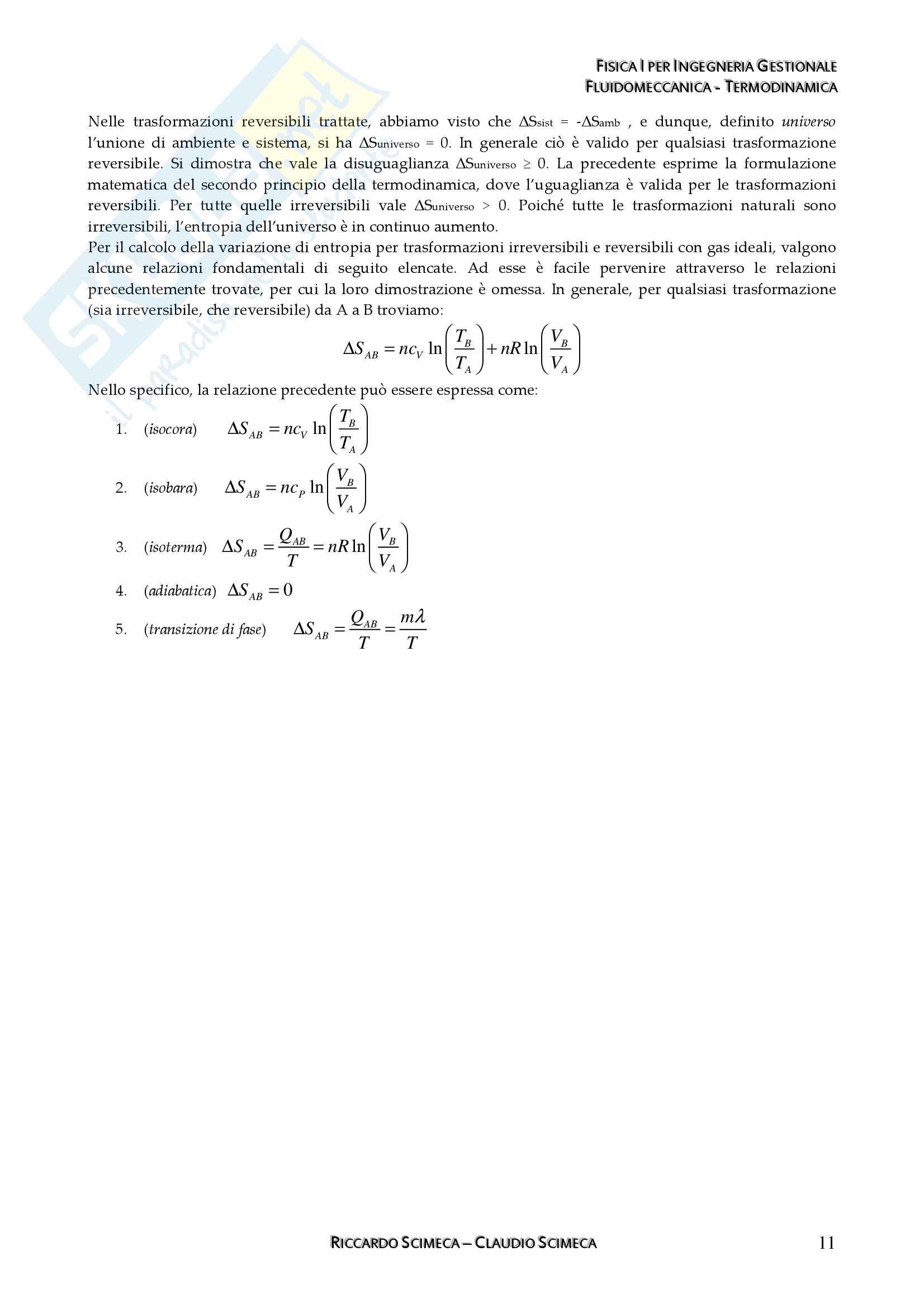 Fisica I - Meccanica, fluidomeccanica e Termodinamica Pag. 31