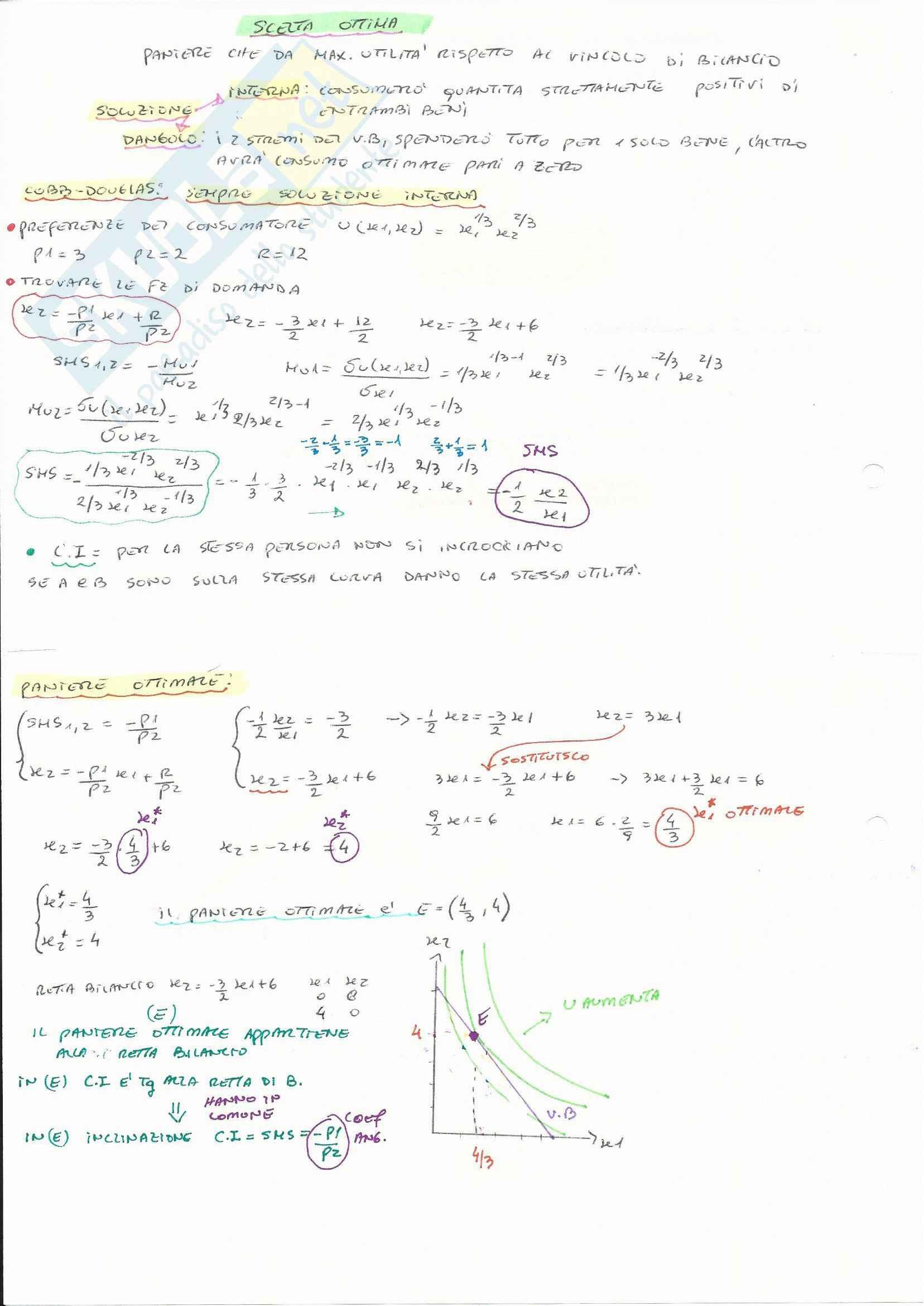 Teorie e esercitazioni su microeconomia,  Economia politica Pag. 51