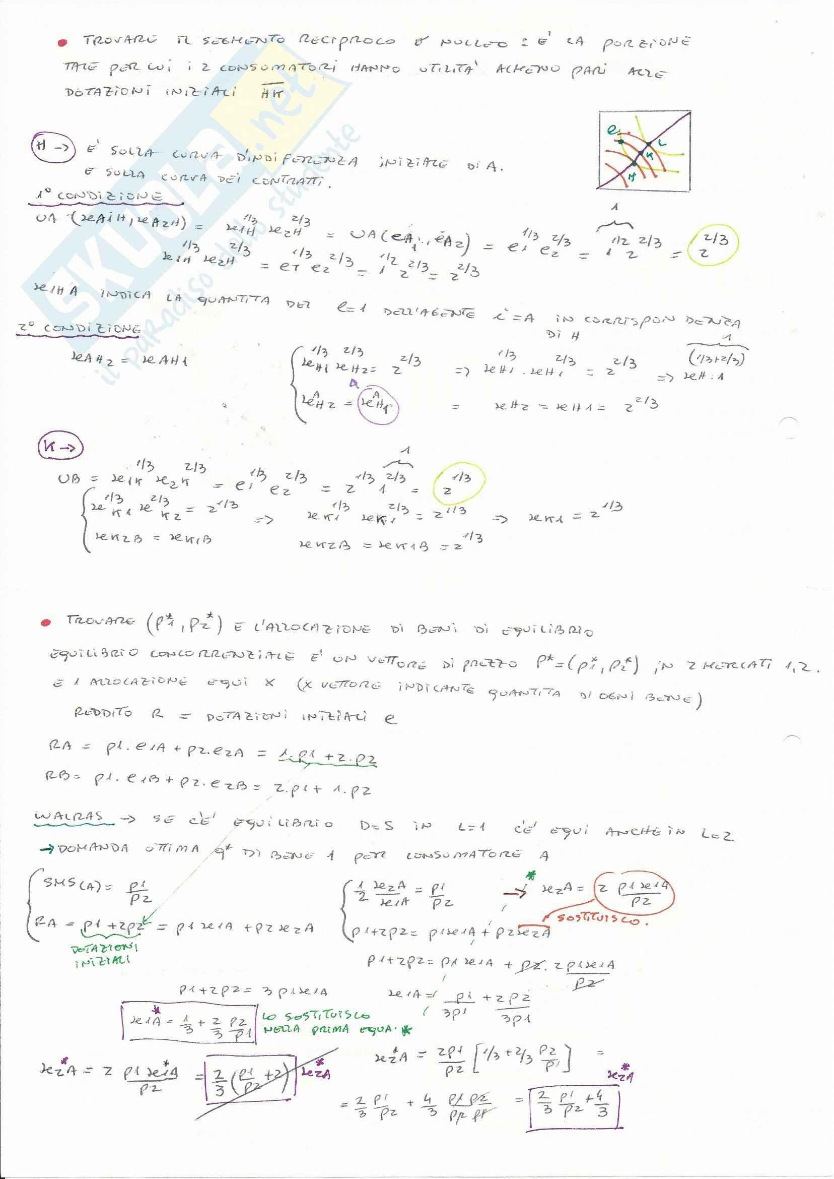 Teorie e esercitazioni su microeconomia,  Economia politica Pag. 61