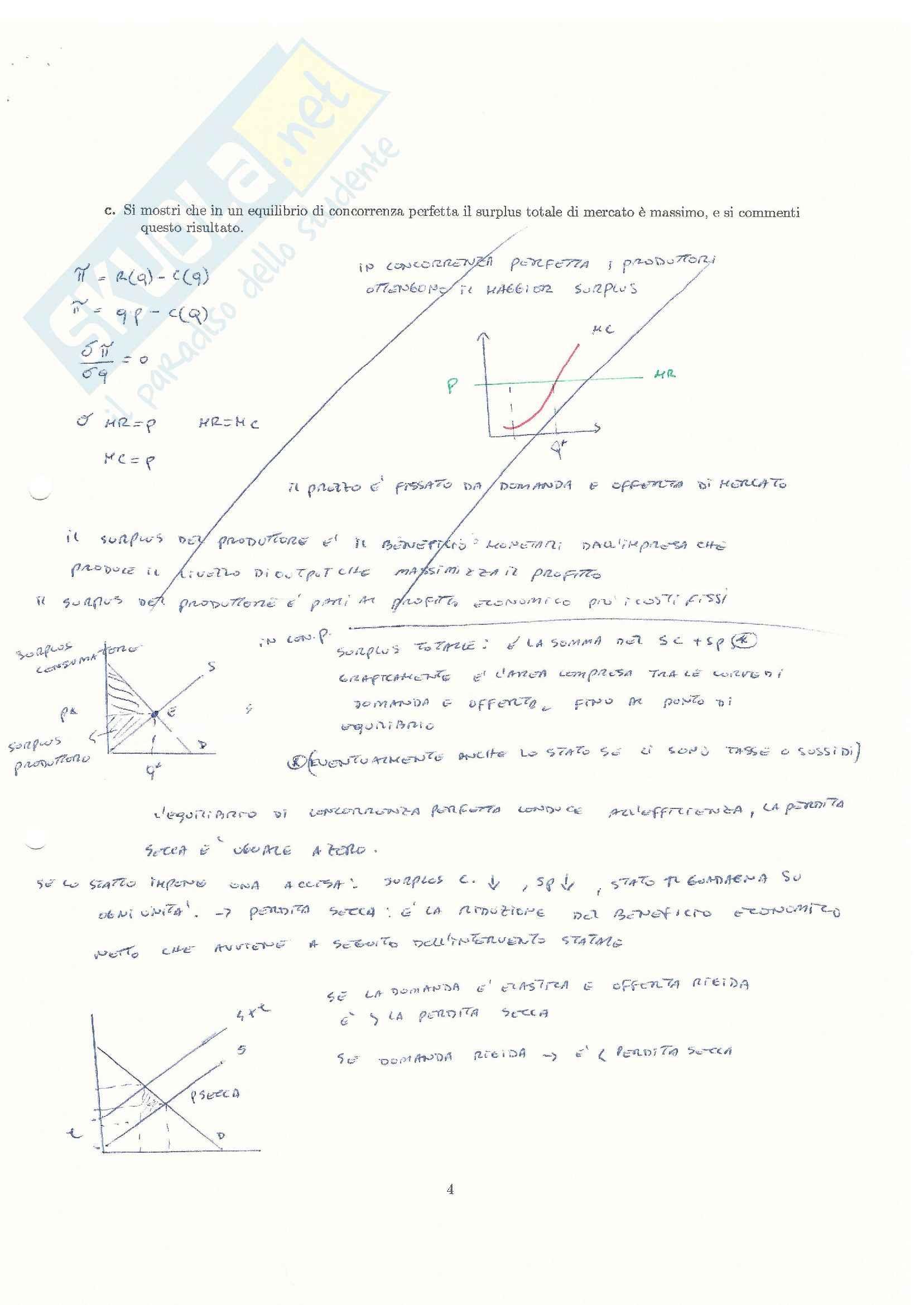 Teorie e esercitazioni su microeconomia,  Economia politica Pag. 86