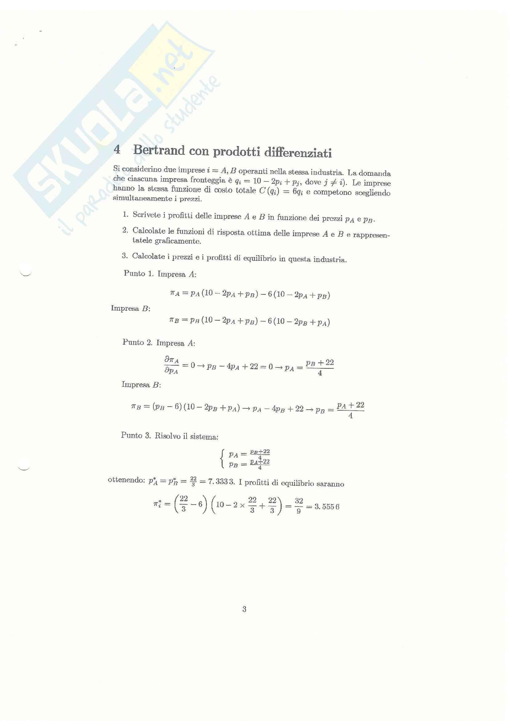 Teorie e esercitazioni su microeconomia,  Economia politica Pag. 96