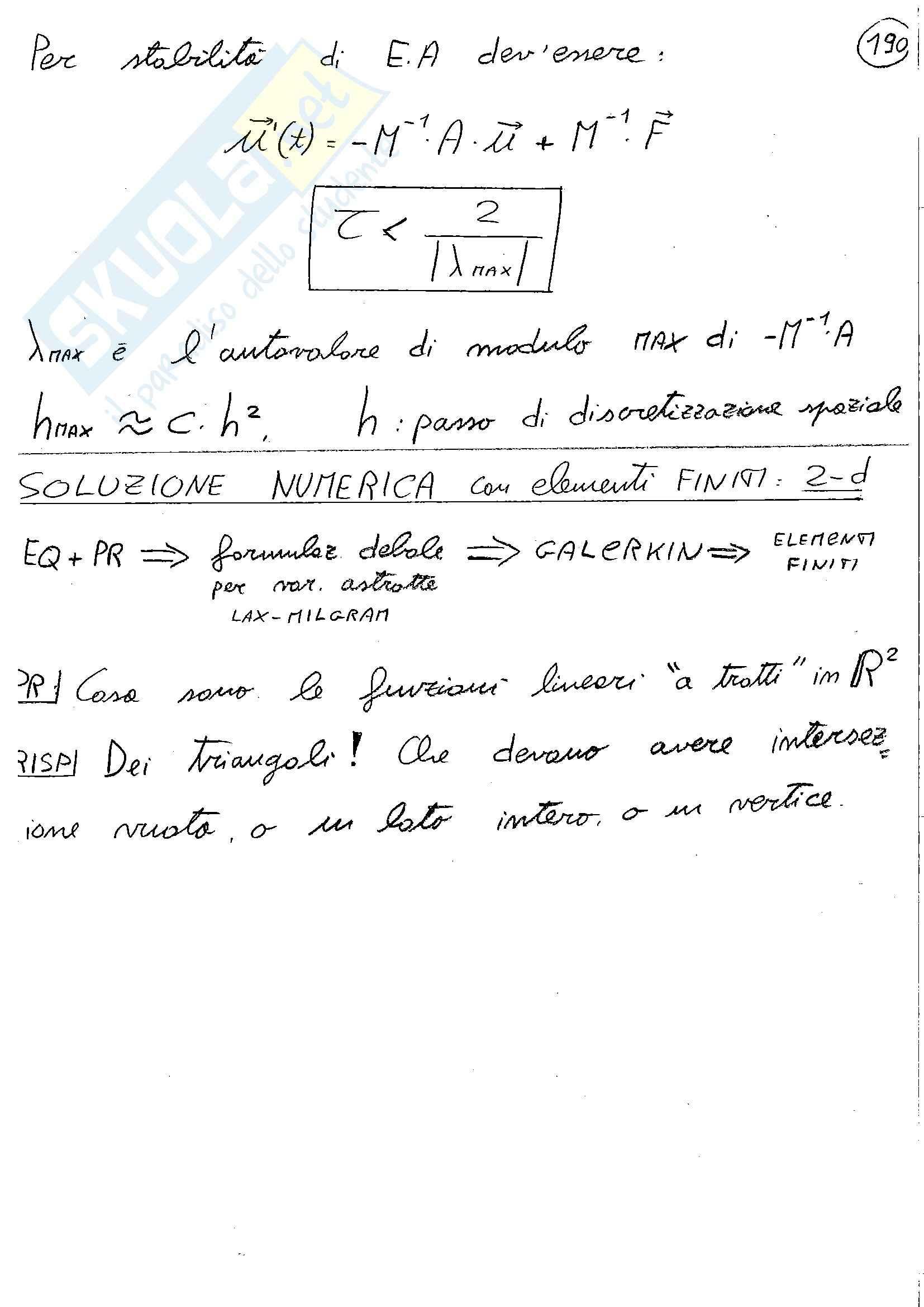 Parte 1, Metodi analitici e numerici per l'ingegneria Pag. 121