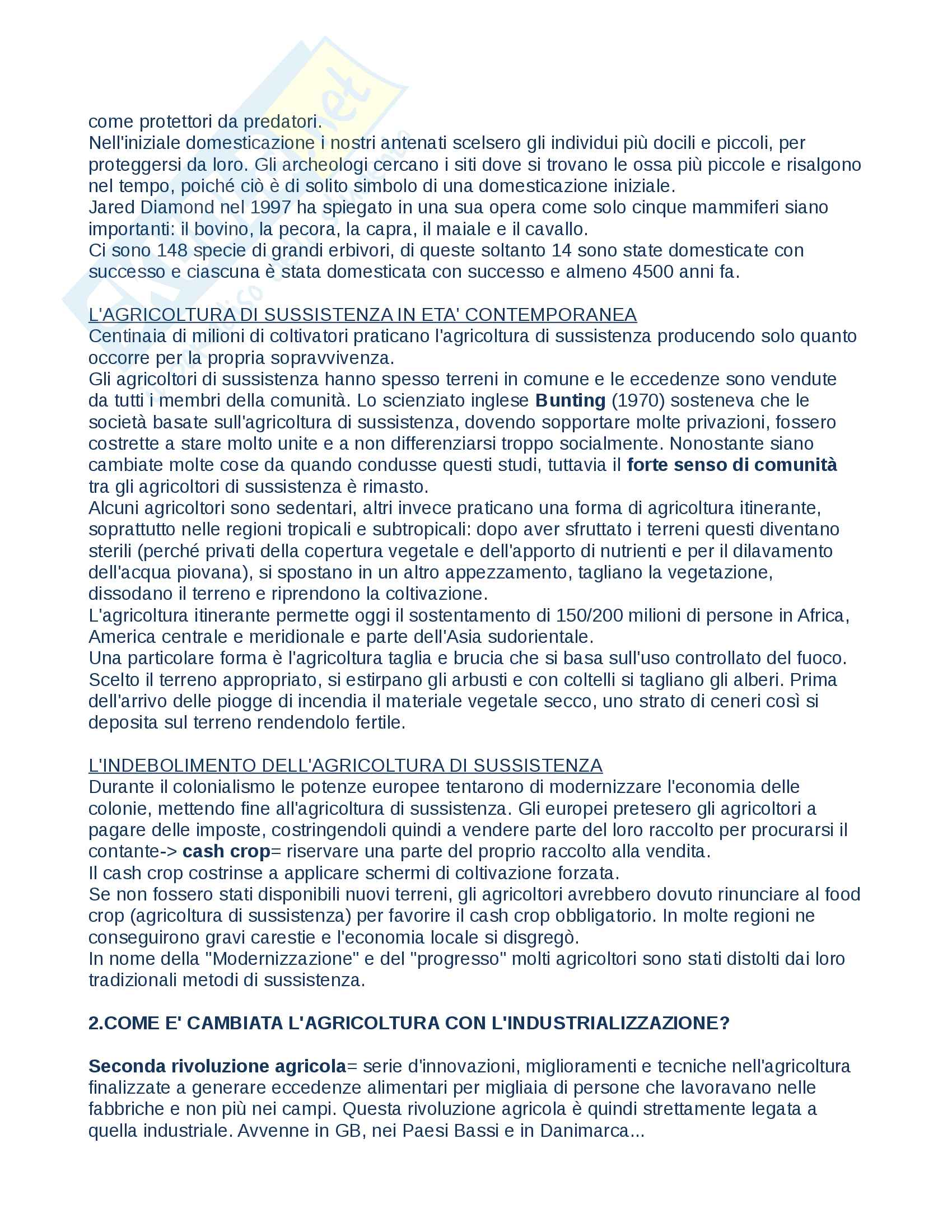 """Riassunto esame Geografia, prof.Lucchesi, libro consigliato """"Geografia umana"""" Pag. 41"""
