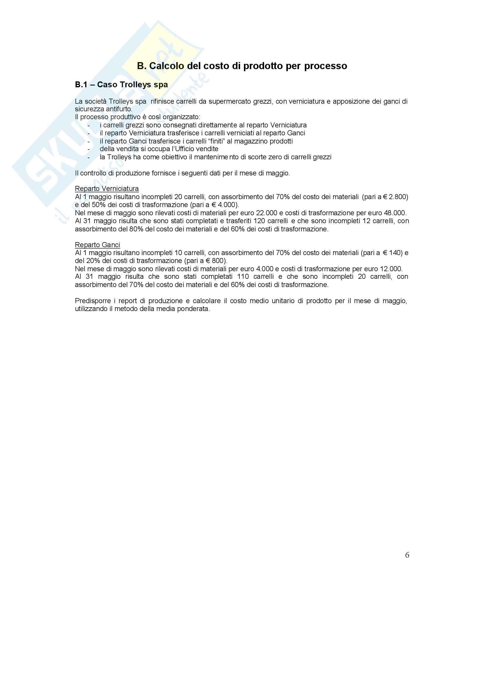 Conto economico - Esercizi Pag. 6