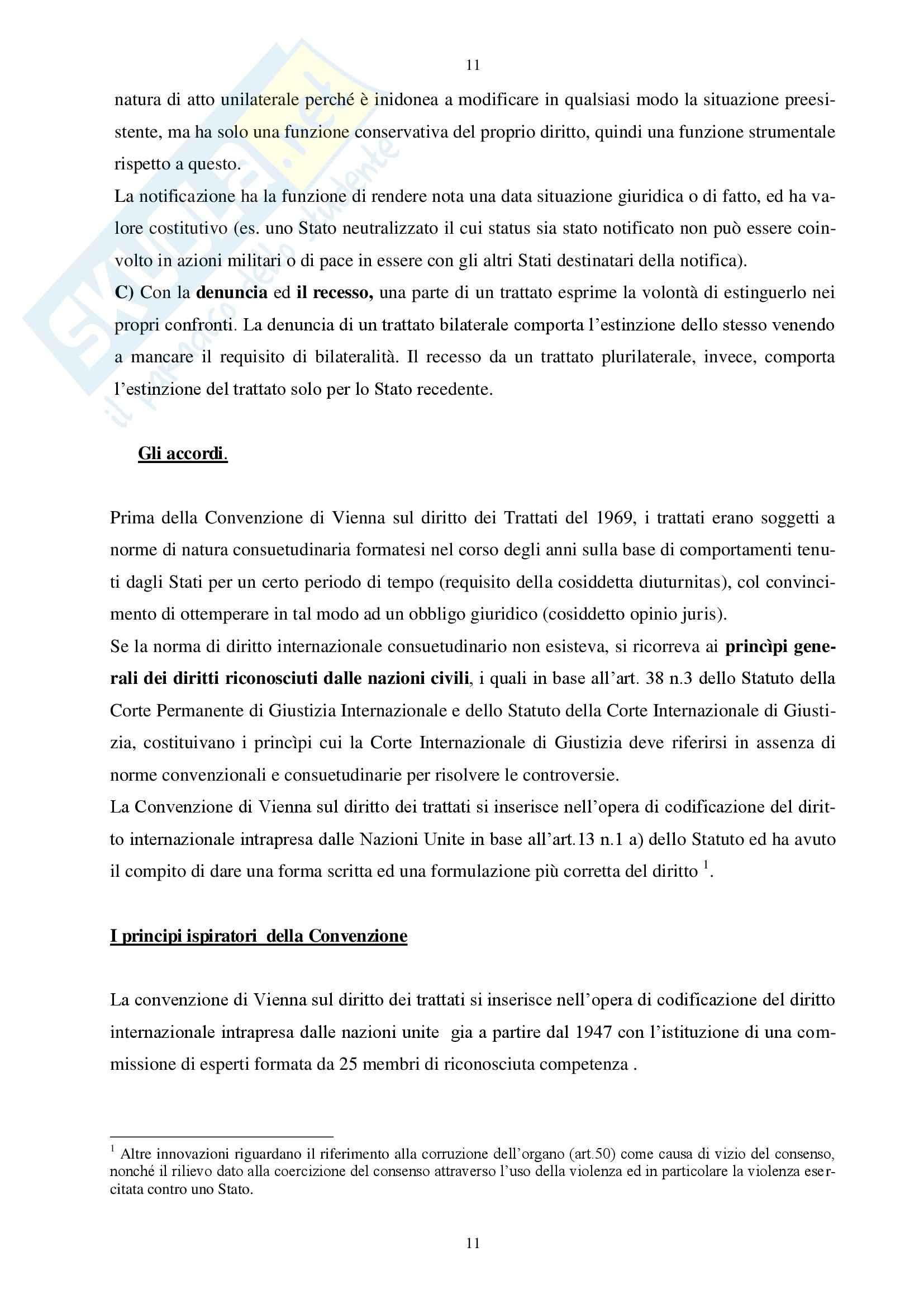 Diritto Internazionale Pag. 11