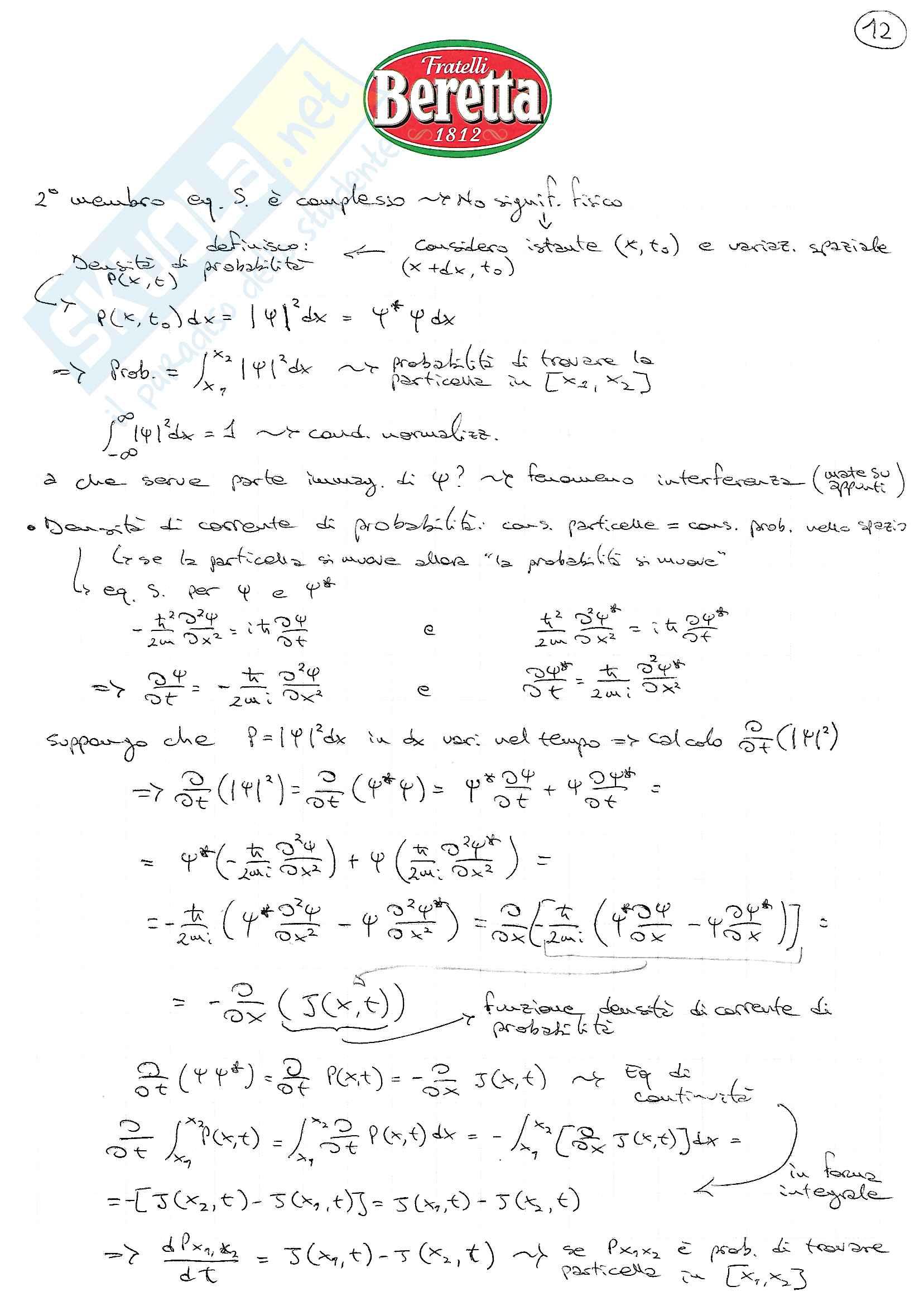 Struttura della Materia I Pag. 36