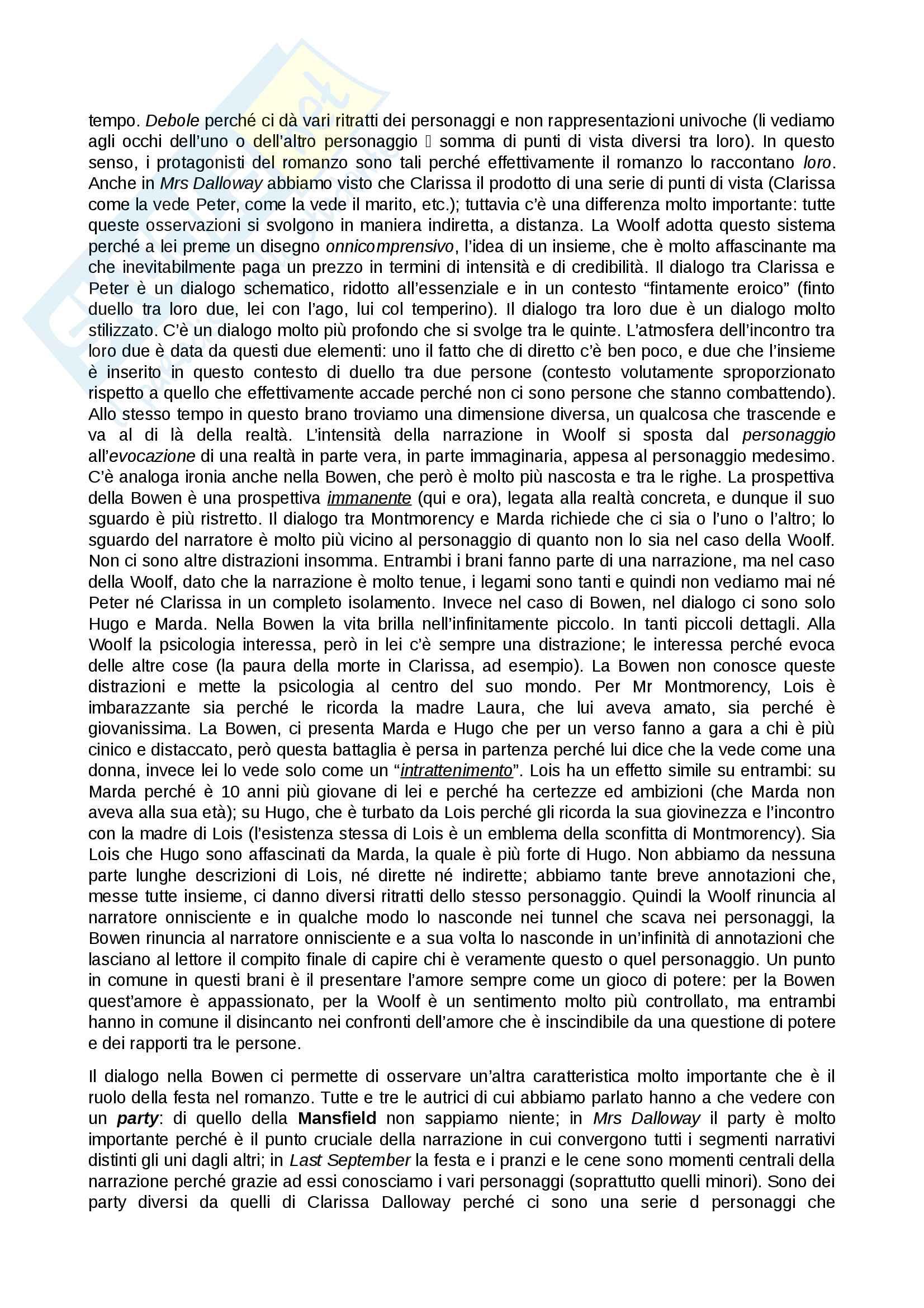 Appunti di Letteratura inglese, prof. Luciani, A.A. 2015/16, 1° semestre Pag. 31