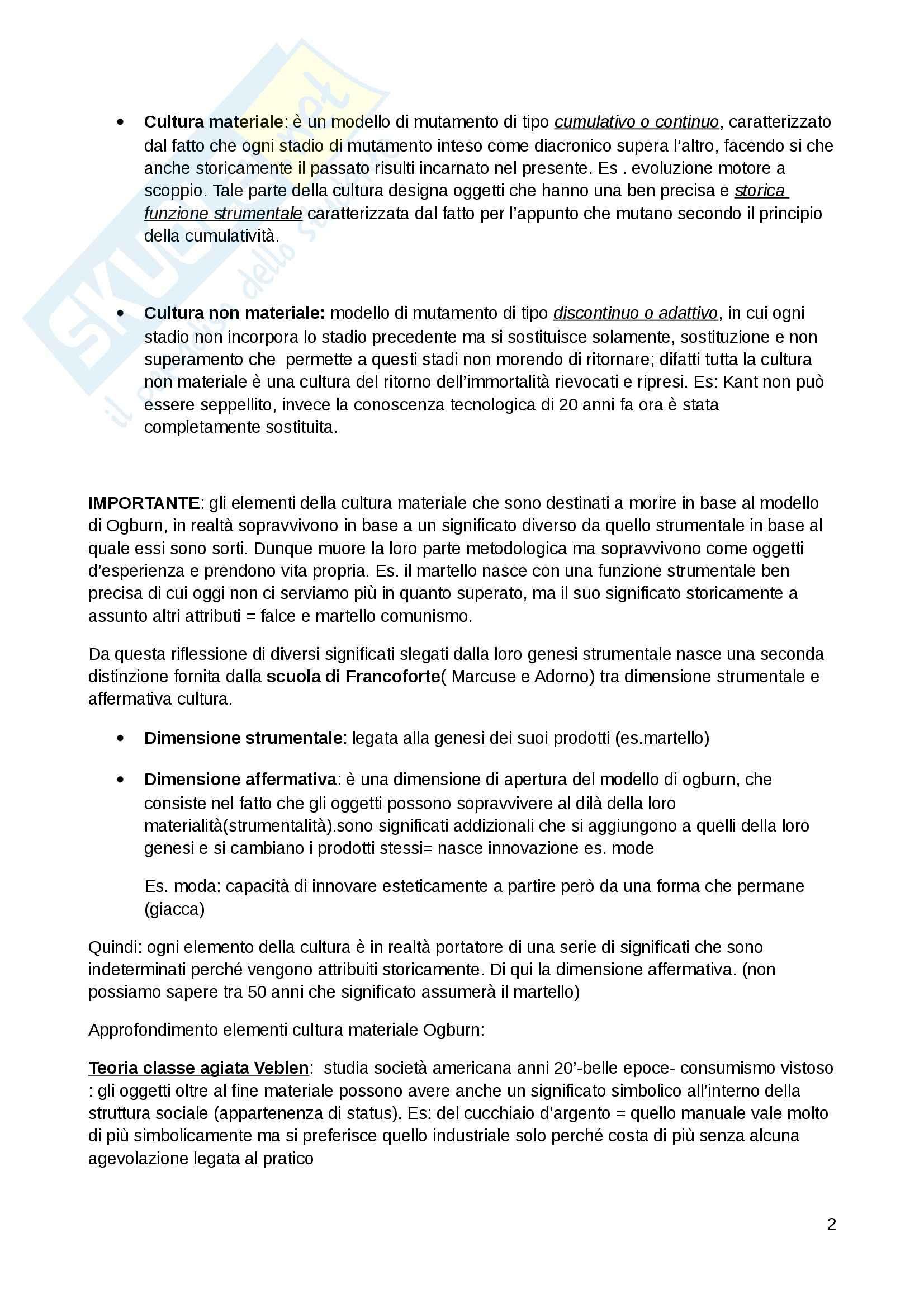 Dialettica della cultura e della comunicazione, Sociologia della comunicazione Pag. 2