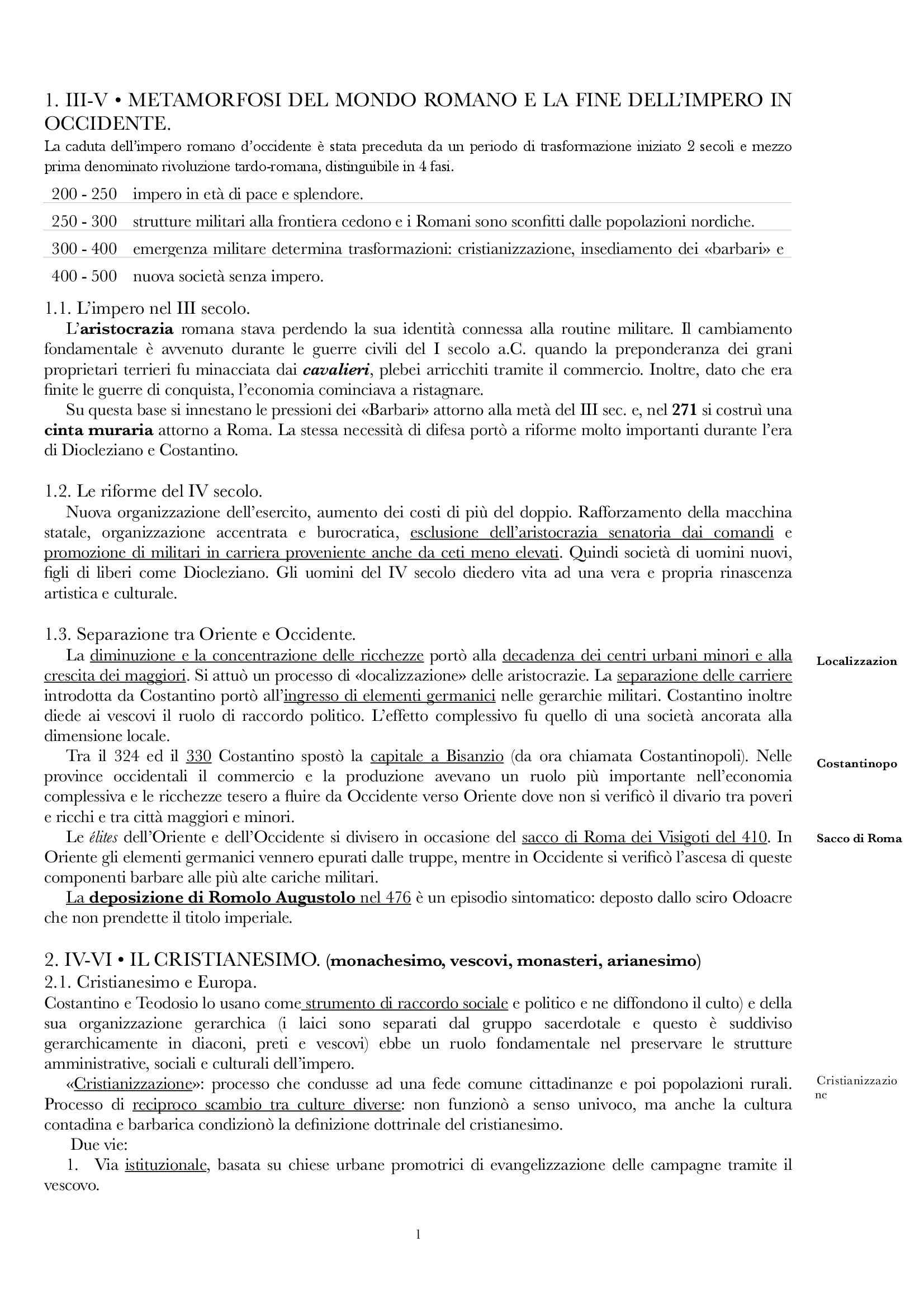 Riassunto esame Storia Medievale, prof. Muzzarelli, libro consigliato Storia Medievale, Montanari