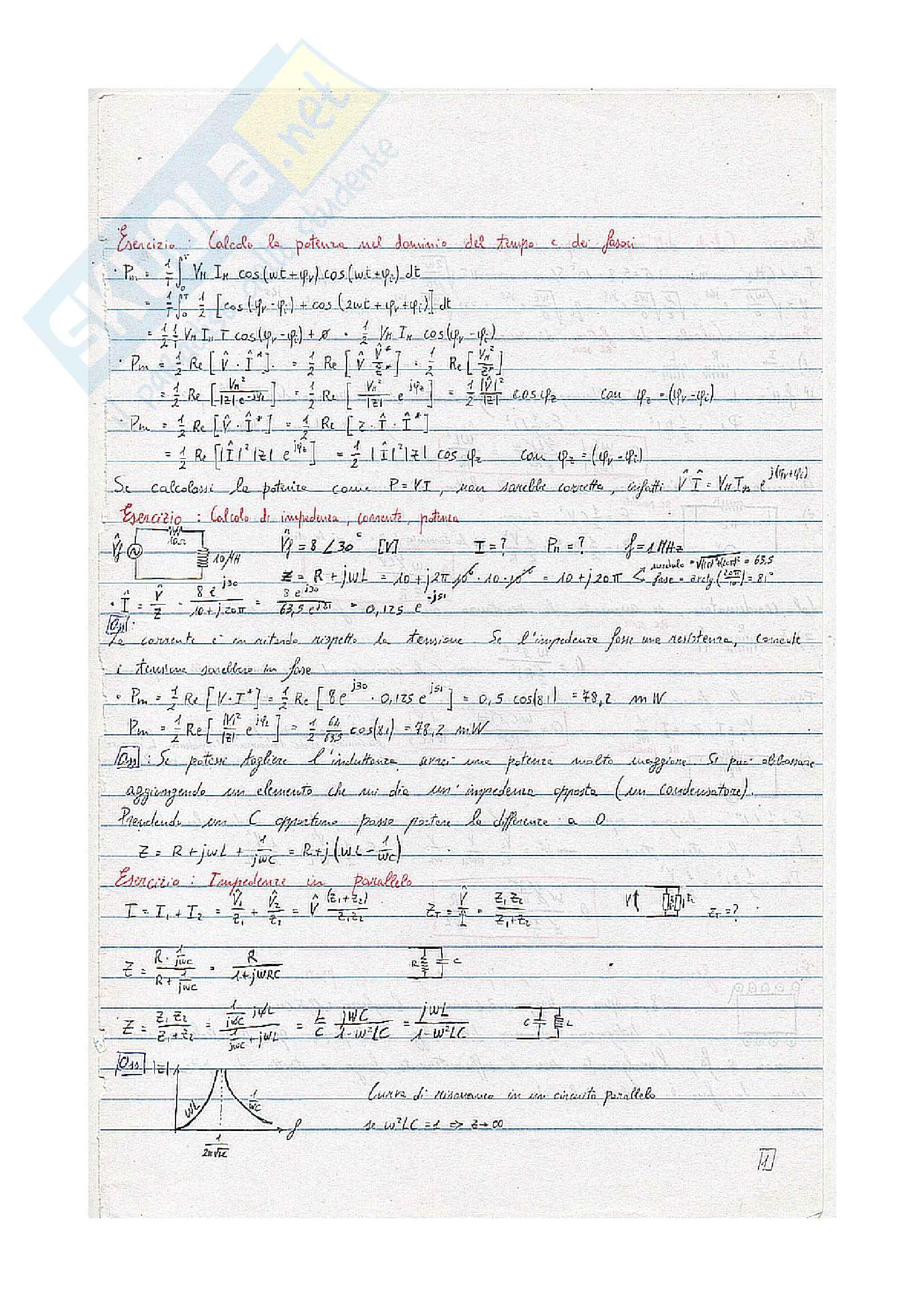 Esercizi vari Applicazioni industriali dell'elettromagnetismo
