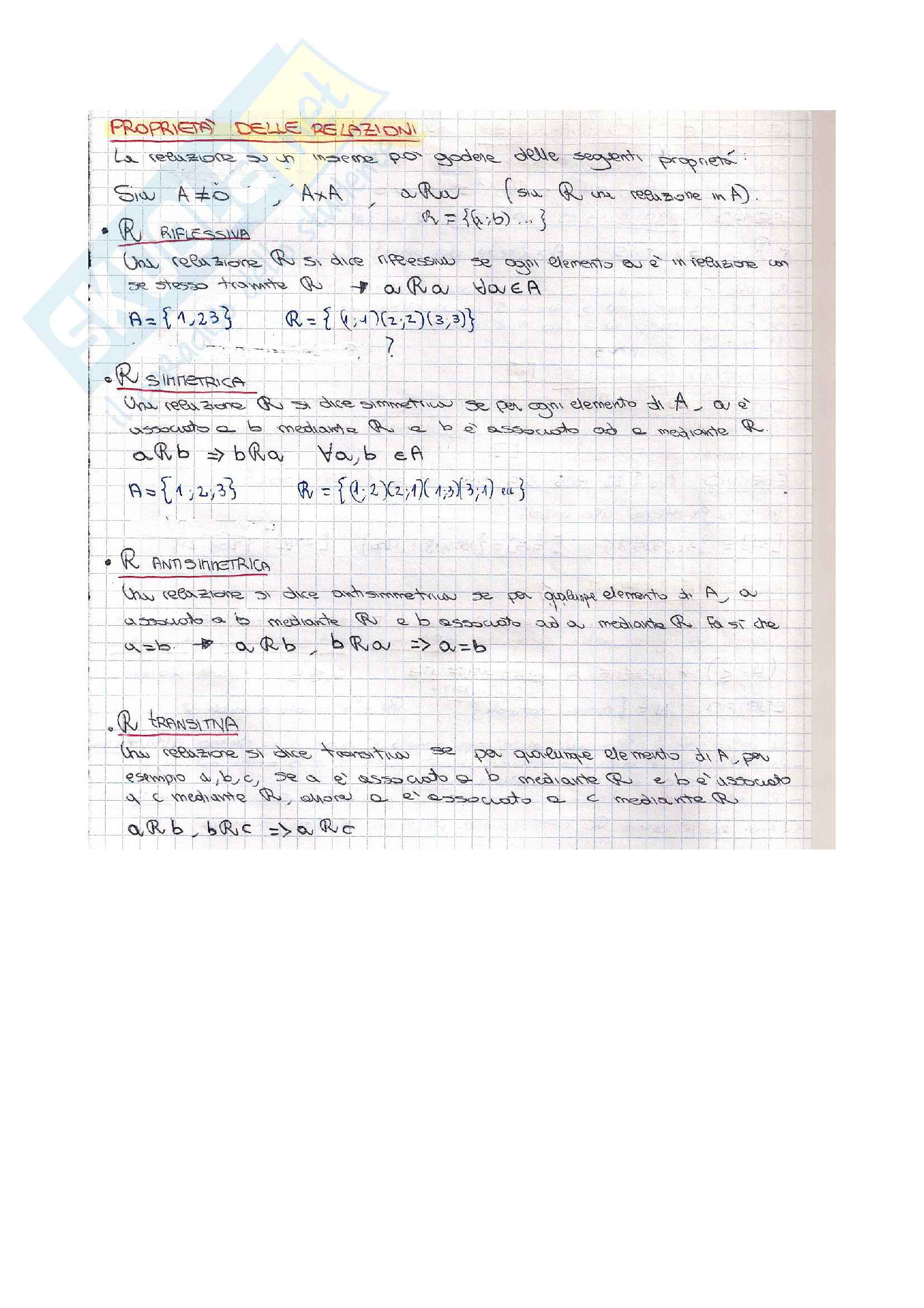 Insiemi - Analisi 1 Pag. 6