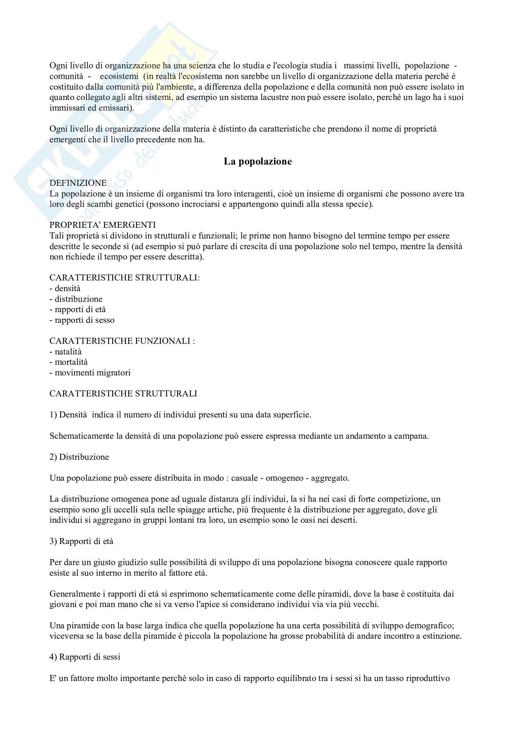 Ecologia - Principi Pag. 2