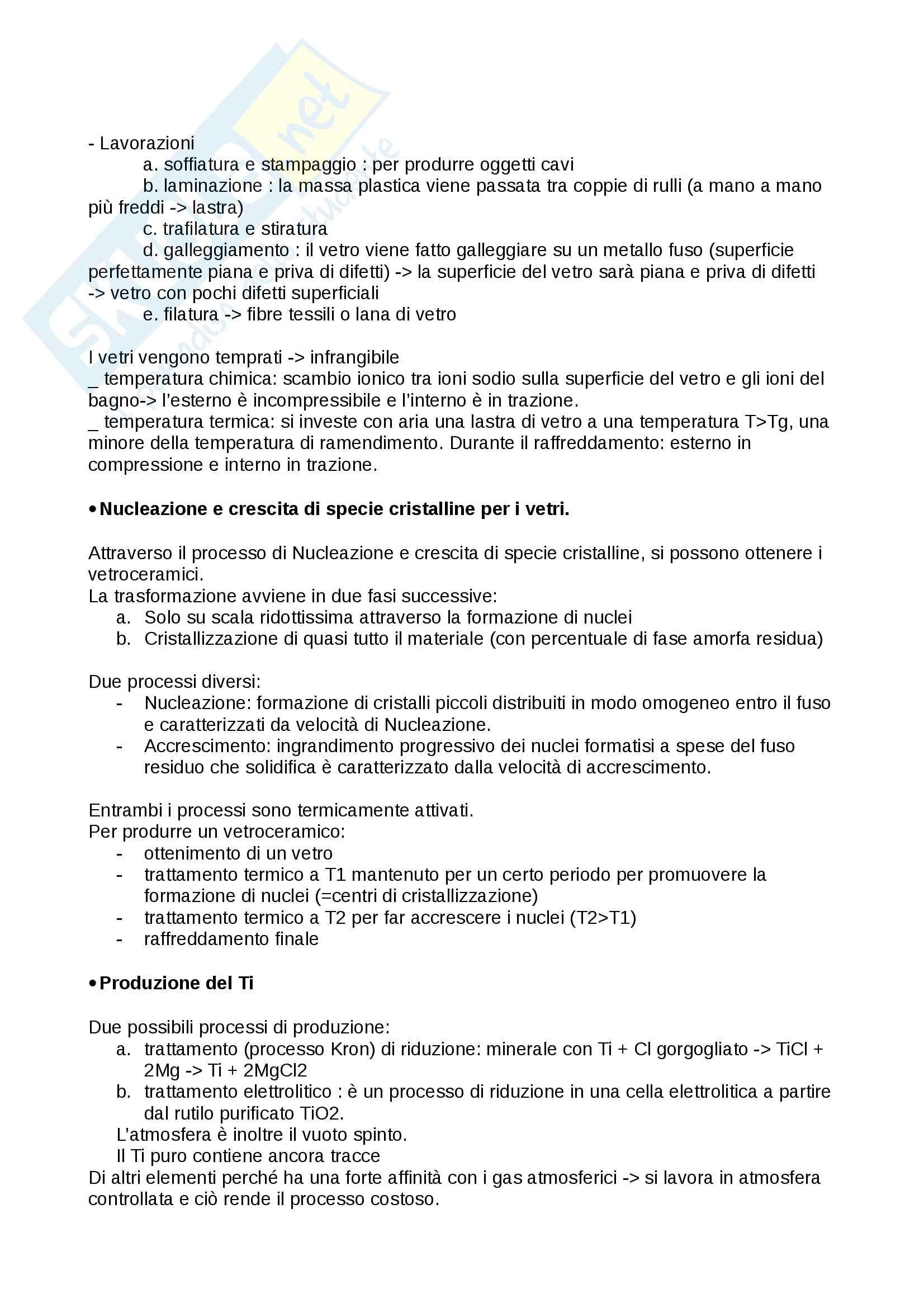Scienze dei materiali: domande esame - Verné Pag. 11