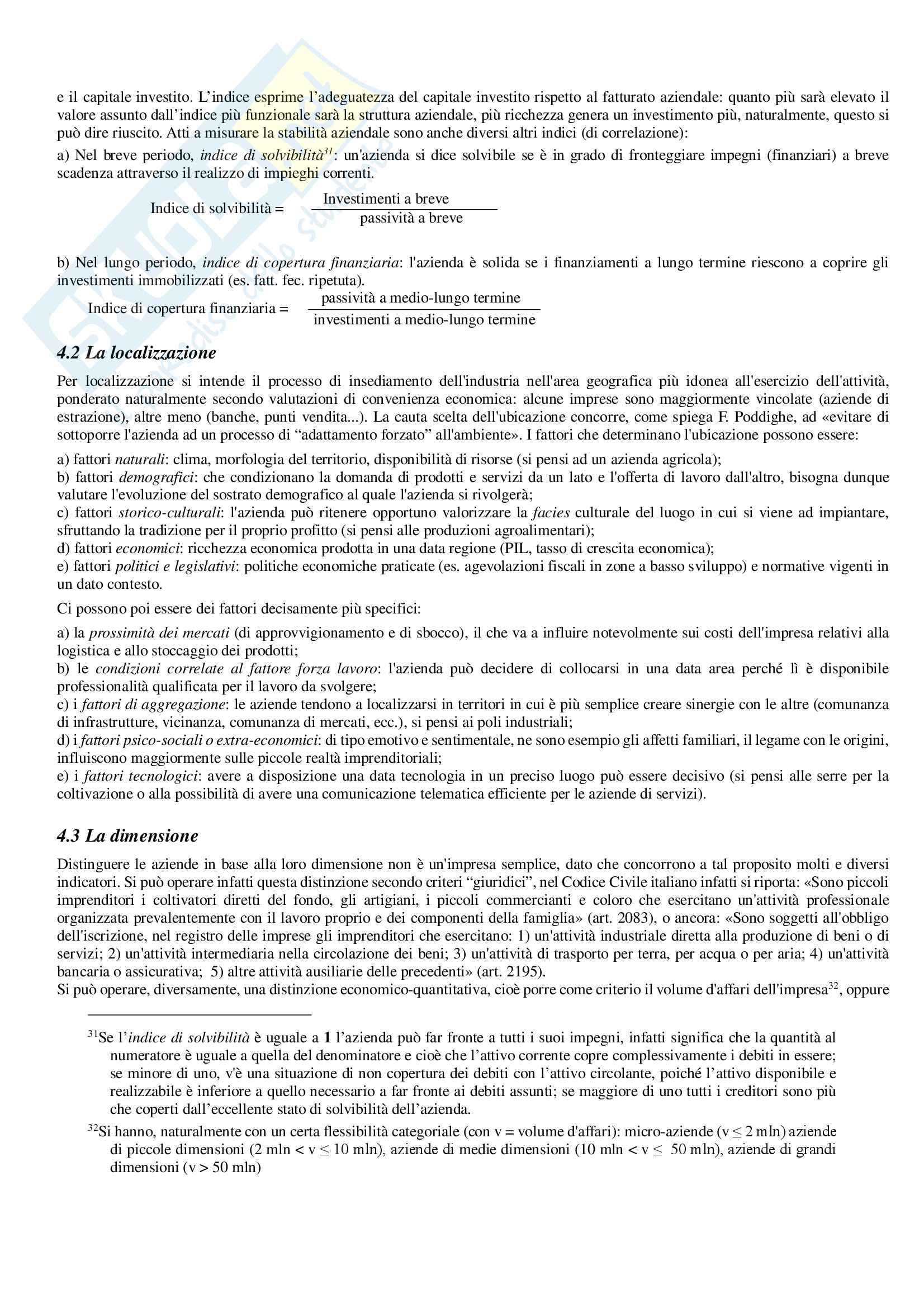 """Sunto esame di Economia aziendale, prof. P. Lizza, testo consigliato P. Lizza - """"Economia aziendale"""", Aracne, 2012 Pag. 26"""