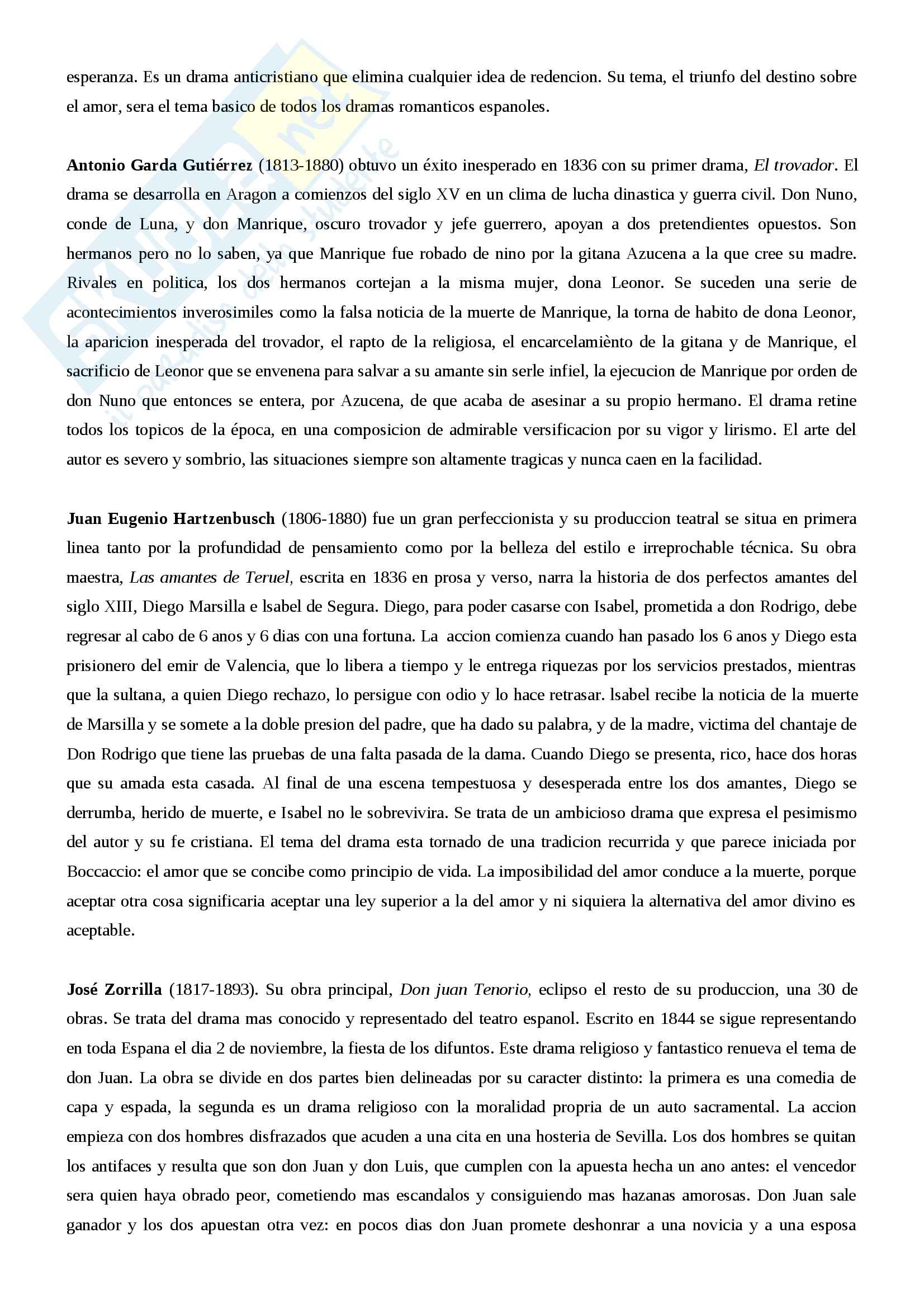 Riassunto letteratura spagnola III, prof.ssa Giovannini, libro consigliato Historia de la literatura espanola, Canavaggio Pag. 21