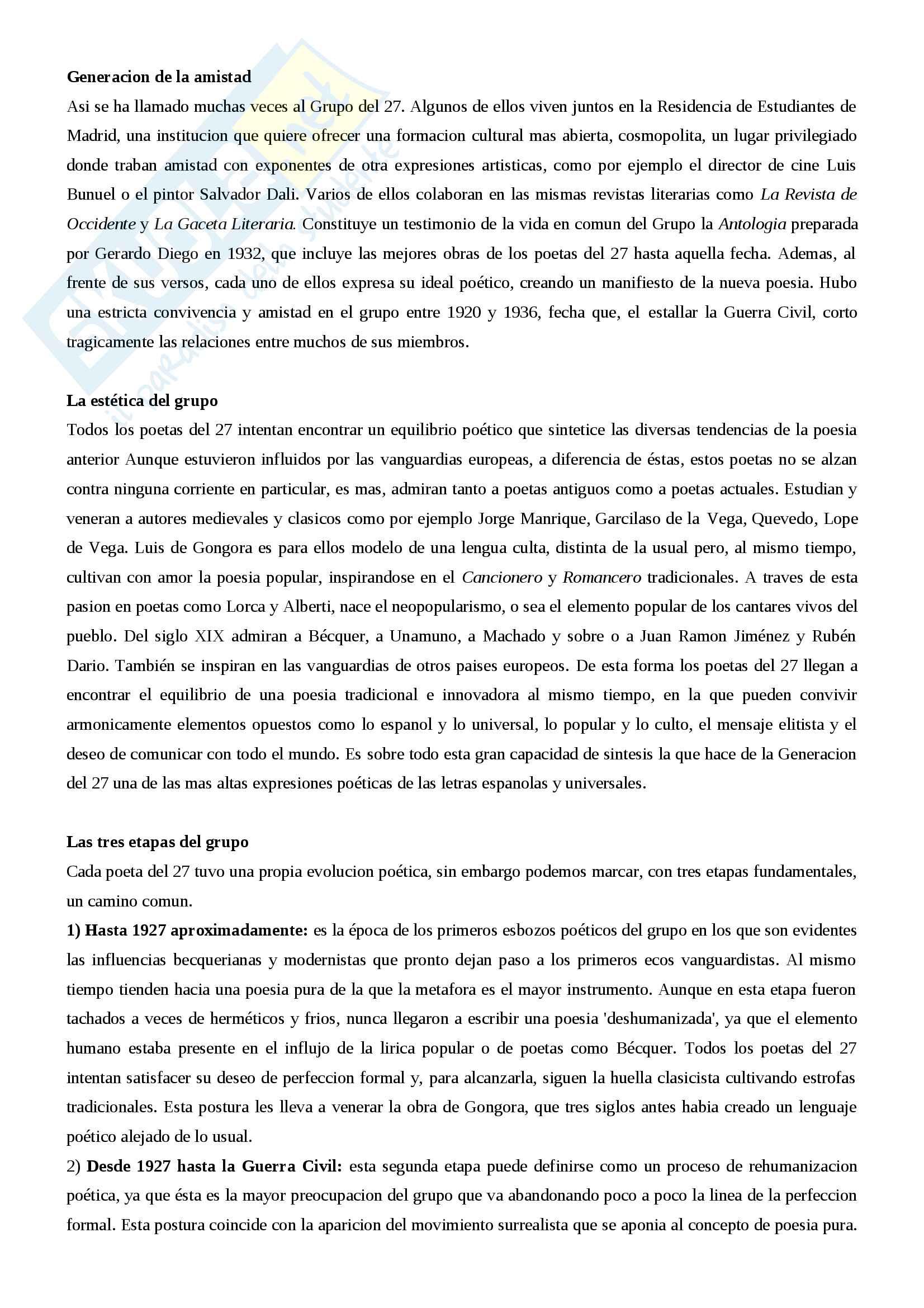 Riassunto letteratura spagnola III, prof.ssa Giovannini, libro consigliato Historia de la literatura espanola, Canavaggio Pag. 66
