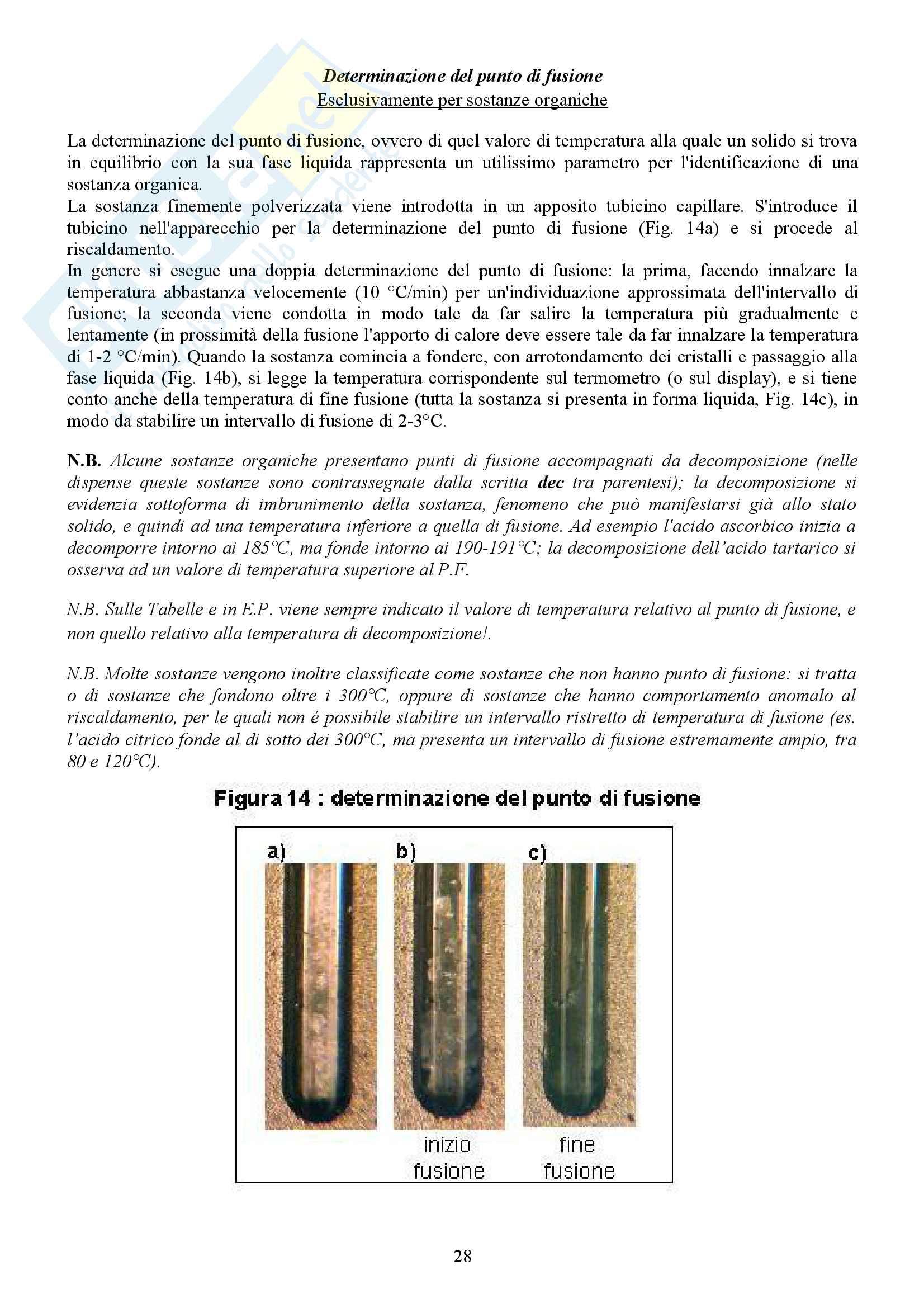 Appunti Molecolari Laboratorio analisi dei medicinali Pag. 31
