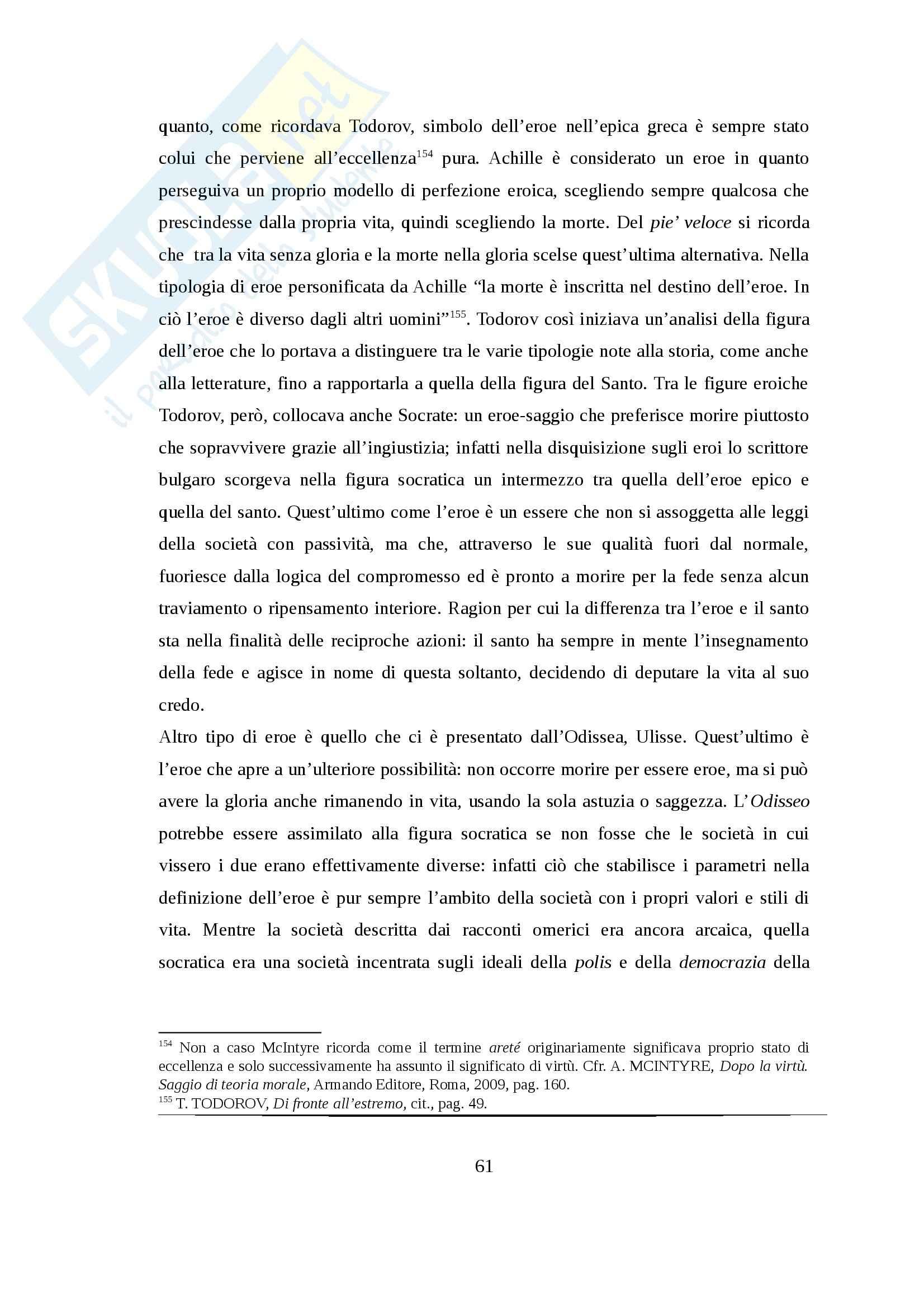 Tesi - Attualità del socratismo politico. La responsabilità di fronte al male da Arendt ad Havel Pag. 61