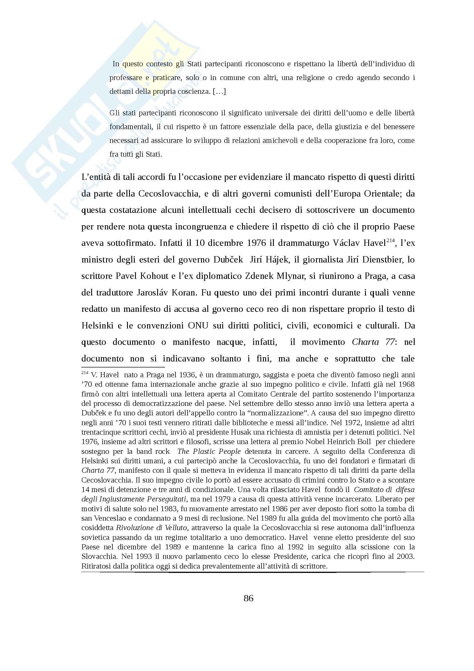 Tesi - Attualità del socratismo politico. La responsabilità di fronte al male da Arendt ad Havel Pag. 86