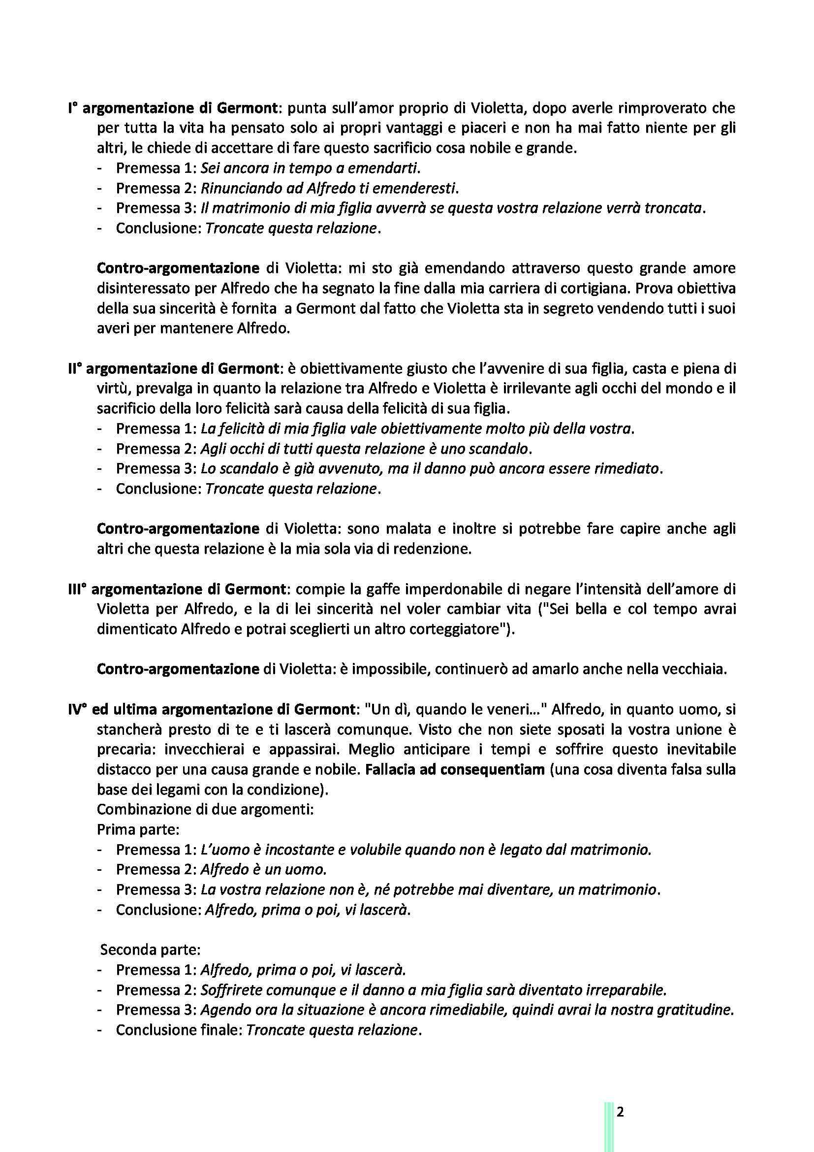 Logica e Argomentazione Giuridica - Appunti e sunti, prof. Artosi Pag. 2