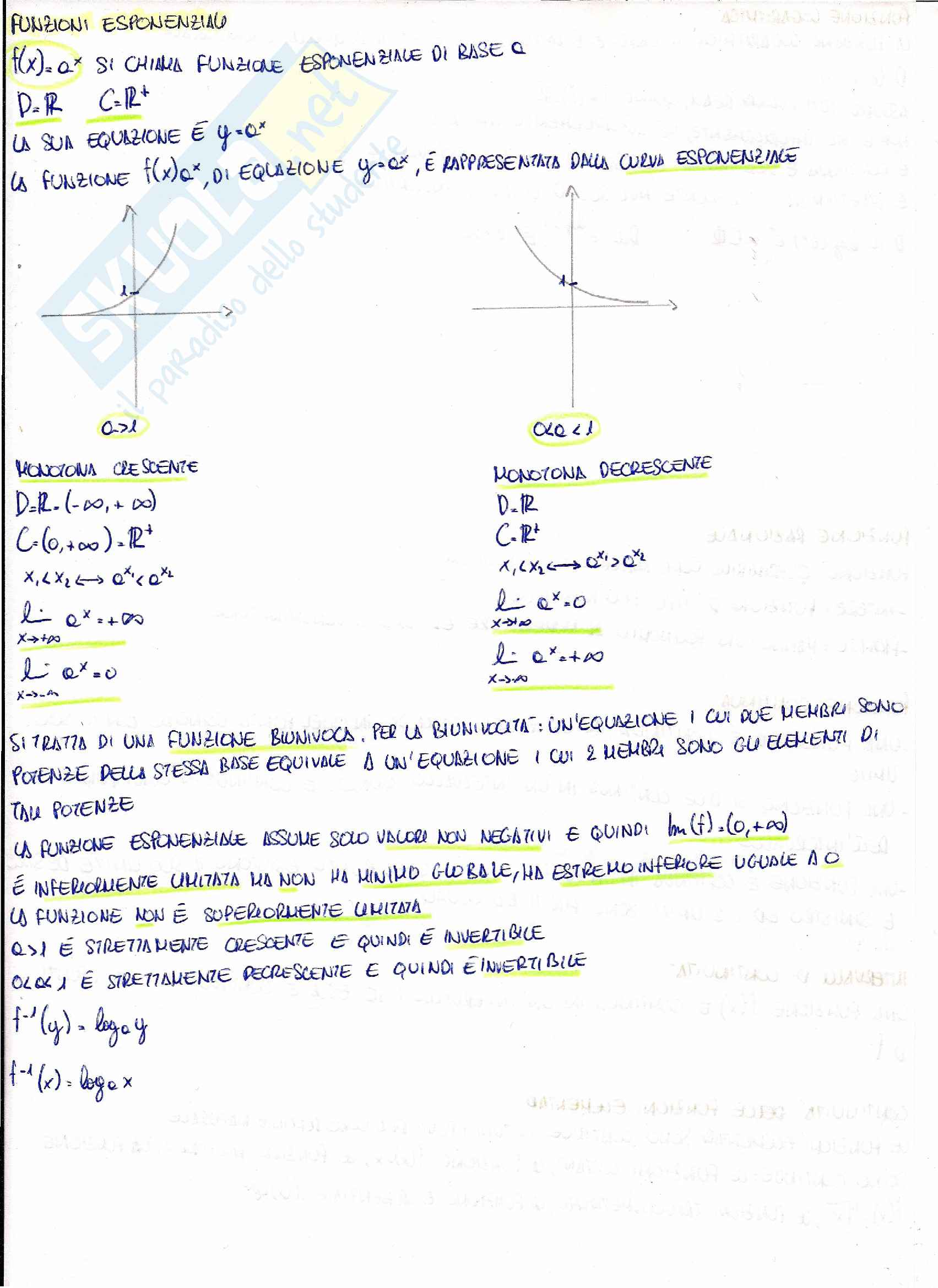 Matematica per le applicazioni I - teoria Pag. 16