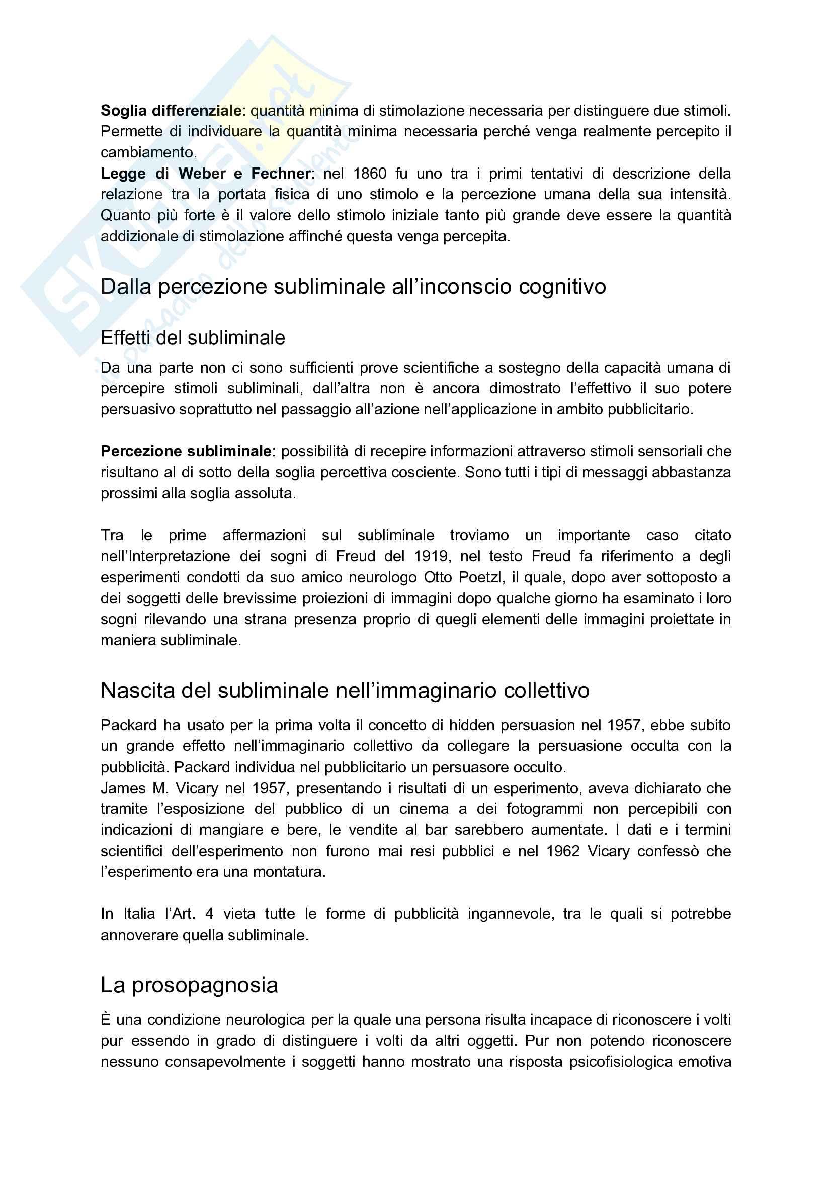 Appunti esame: Psicologia della comunicazione audiovisiva Pag. 11