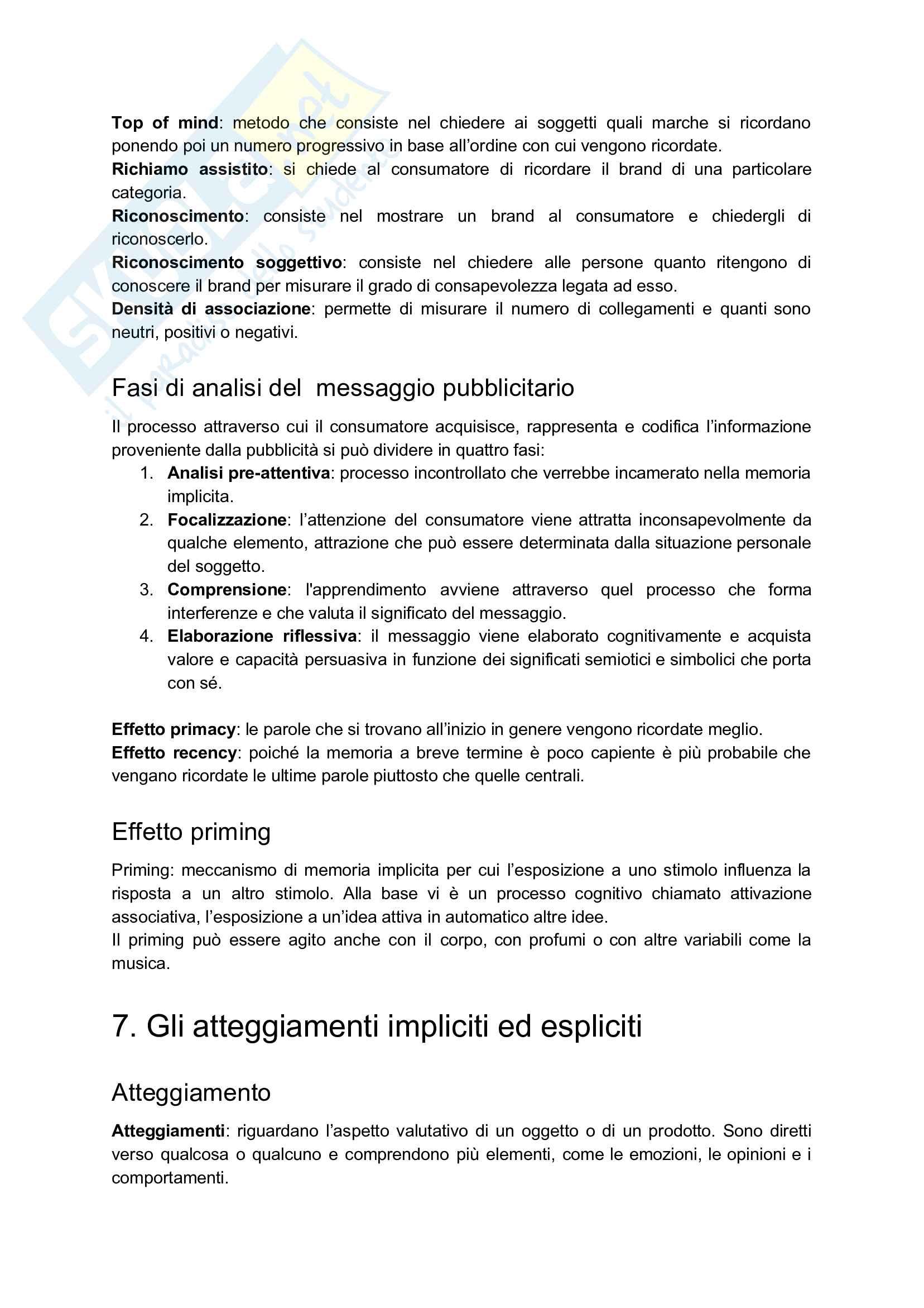 Appunti esame: Psicologia della comunicazione audiovisiva Pag. 36