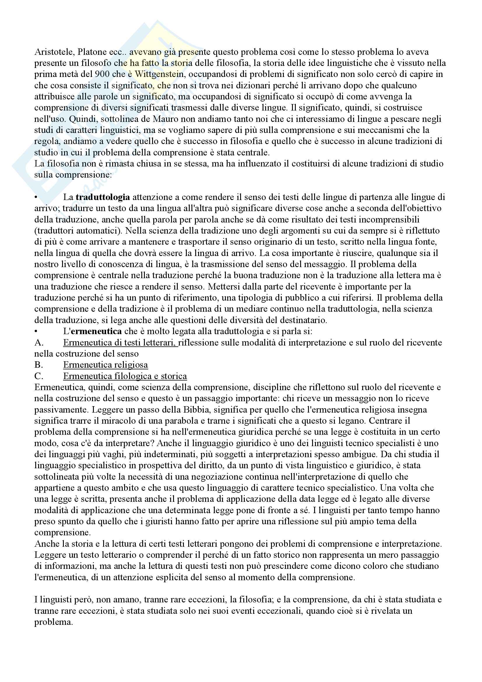 Appunti completi esame Teoria della mediazione, prof. Machetti, prof. Bagna Pag. 6