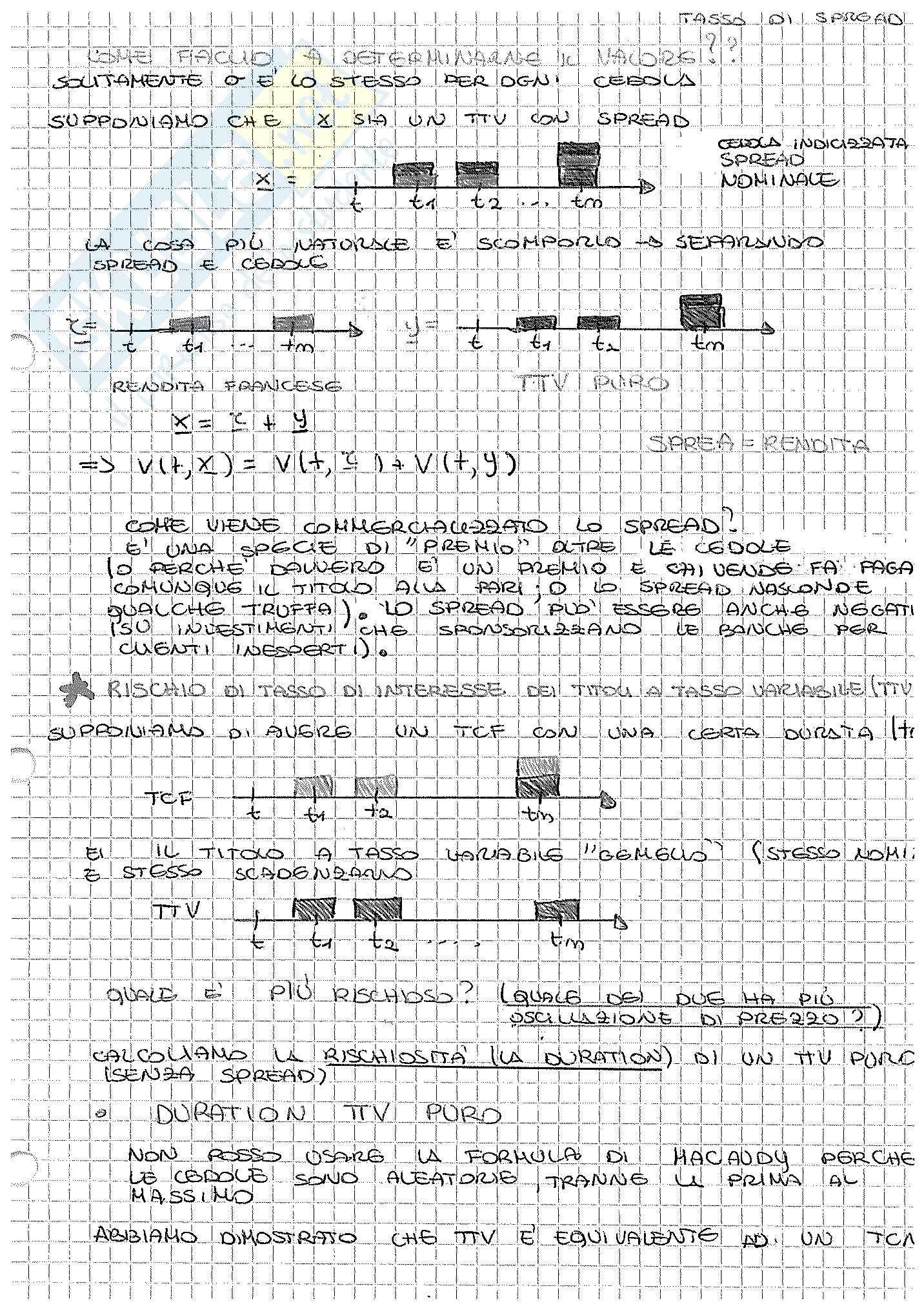 Appunti di Matematica Finanziaria, docente Claudio Pacati Pag. 81