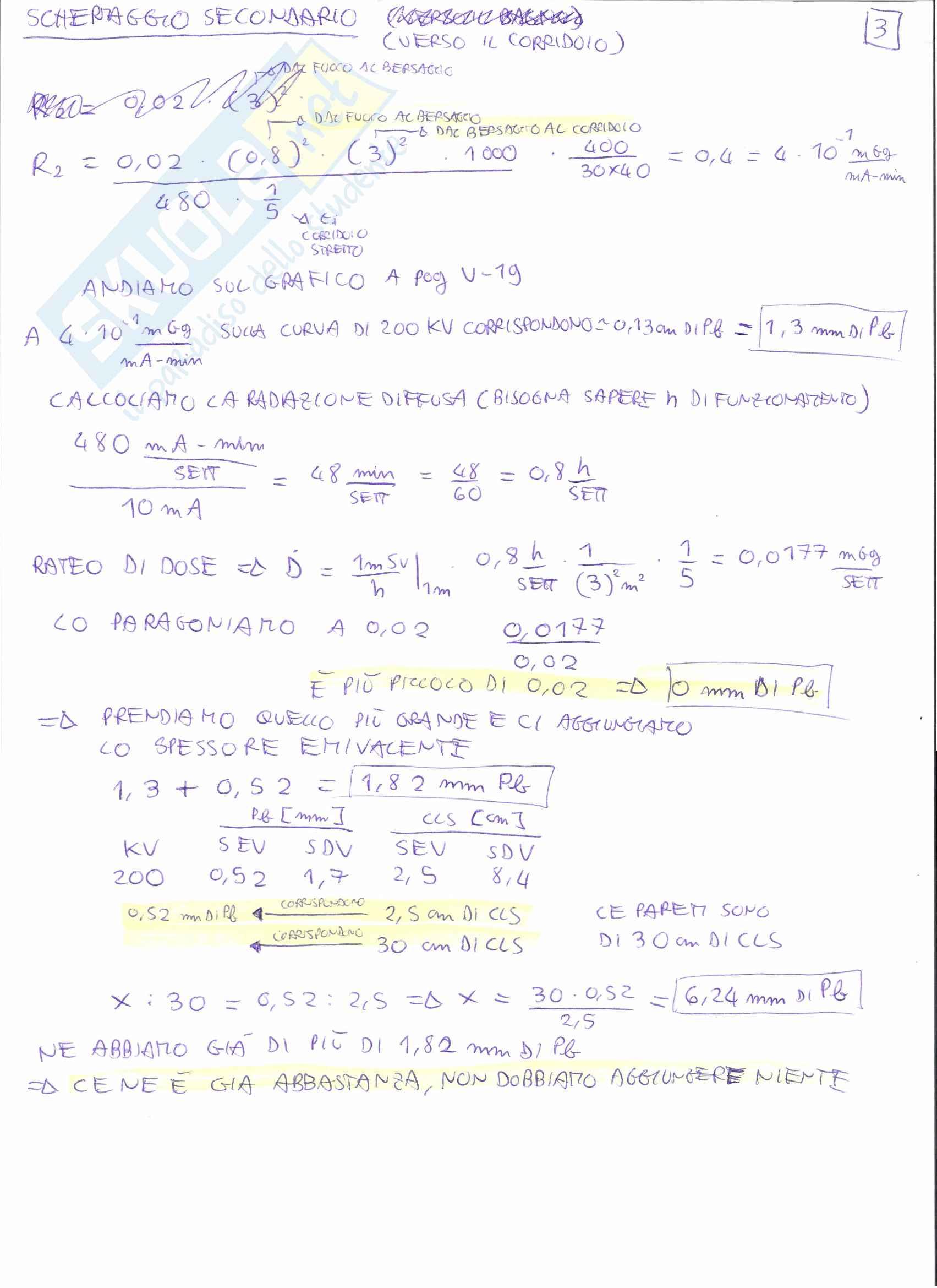 Appunti e Simulazioni d'esame di Radioprotezione T Pag. 61