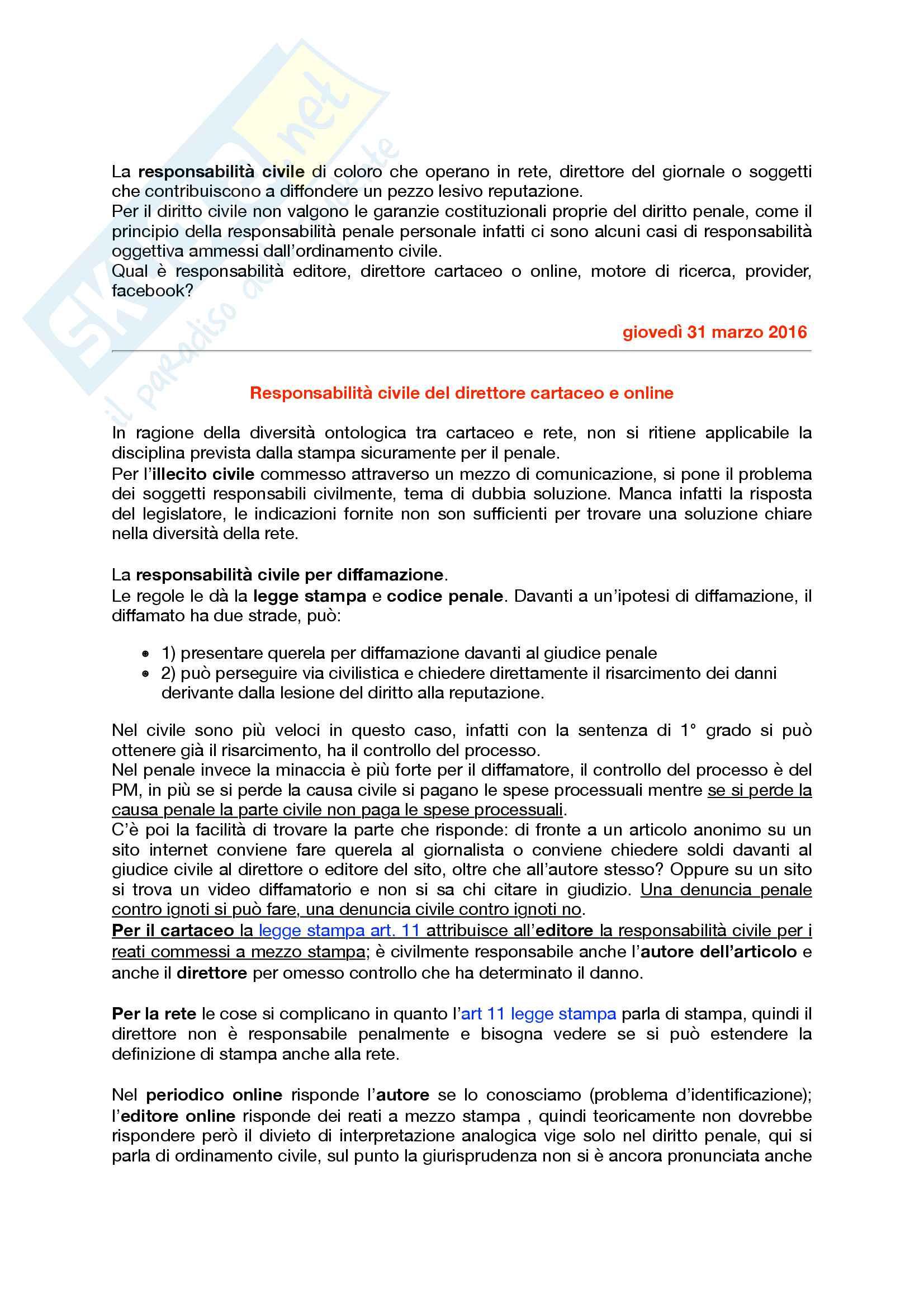 Appunti di Diritto dell'Informazione e Comunicazione 2016 Pag. 36
