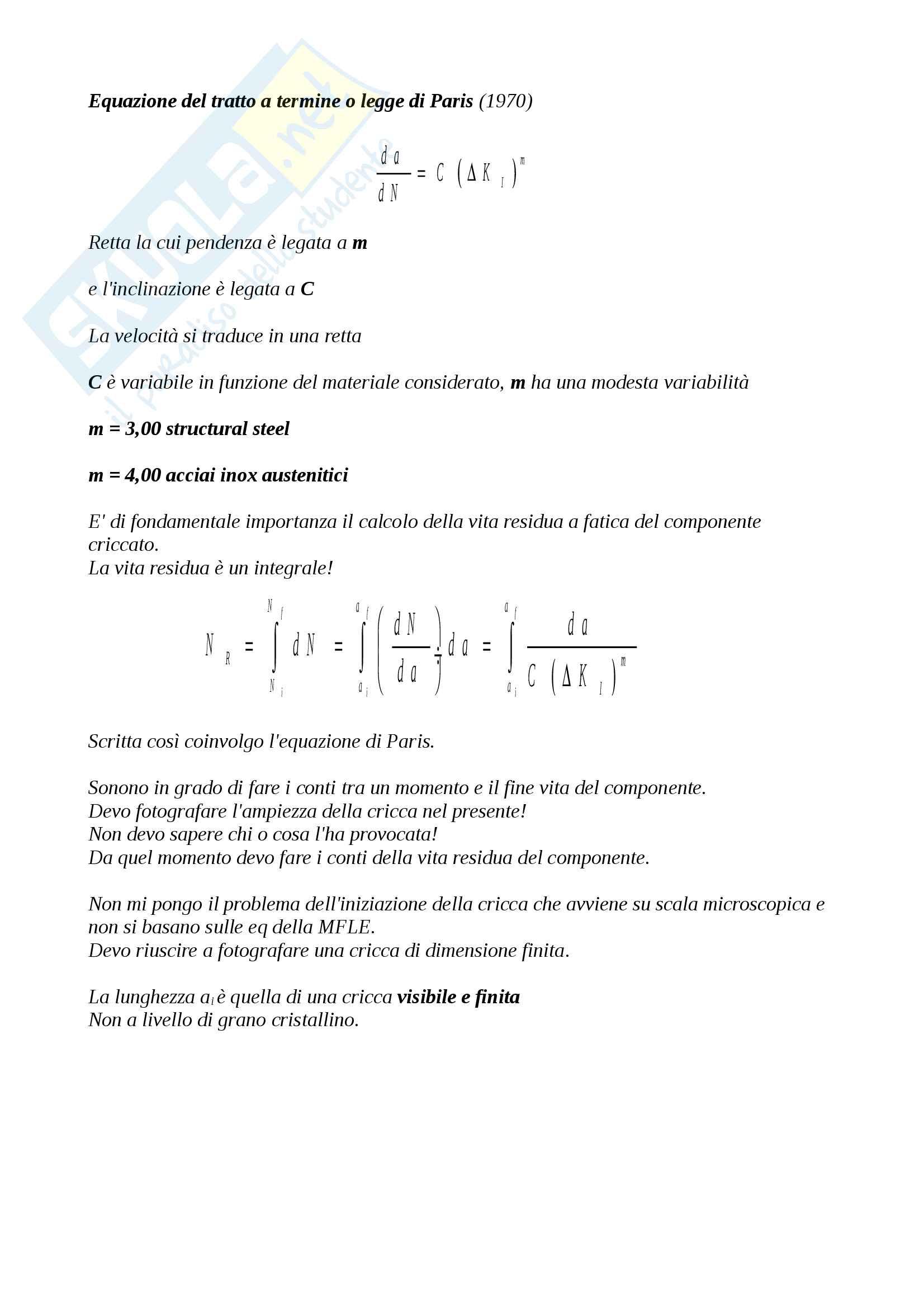 Meccanica dei materiali Pag. 61