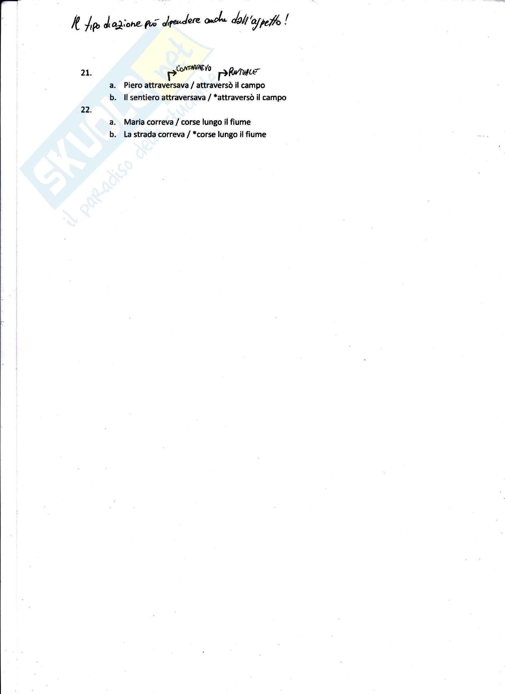 Linguistica Italiana - Appunti Pag. 26