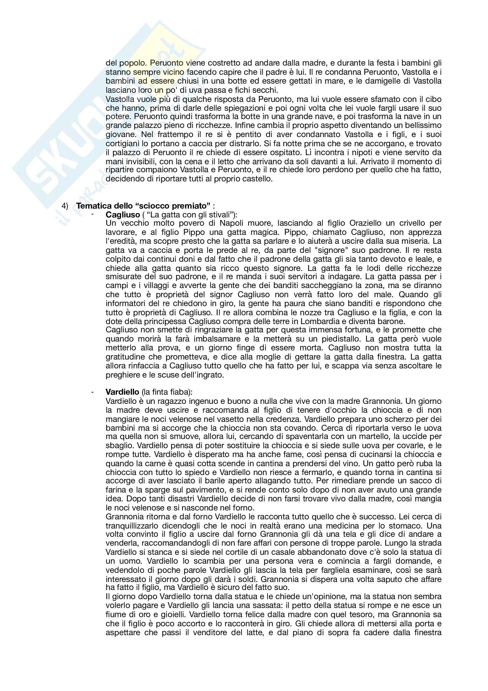 Appunti Letteratura per ragazzi (versione più dettagliata) Pag. 11