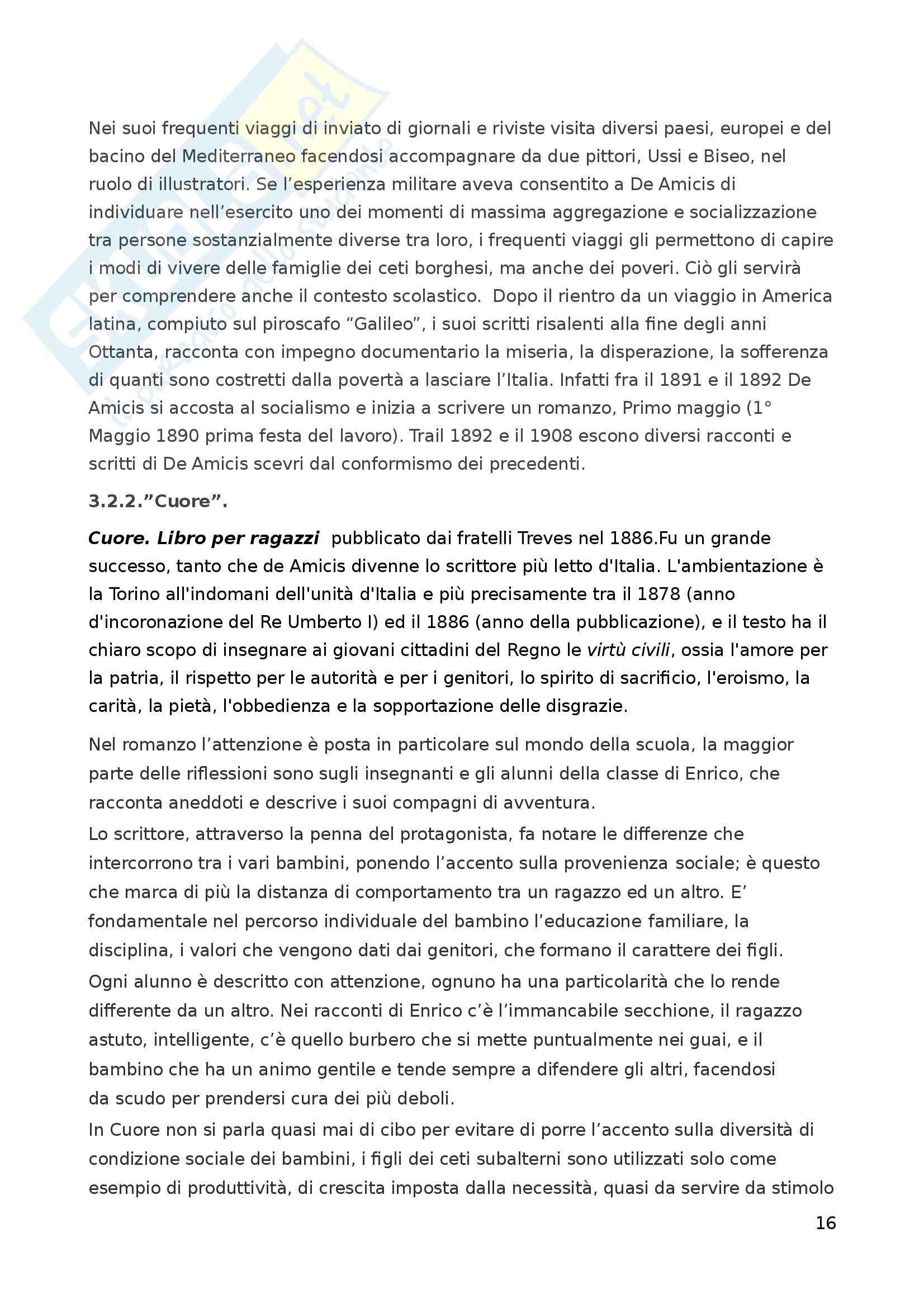 Riassunto esame Letteratura per l'Infanzia, prof. Boero, libro consigliato La Letteratura per l'Infanzia Pag. 16