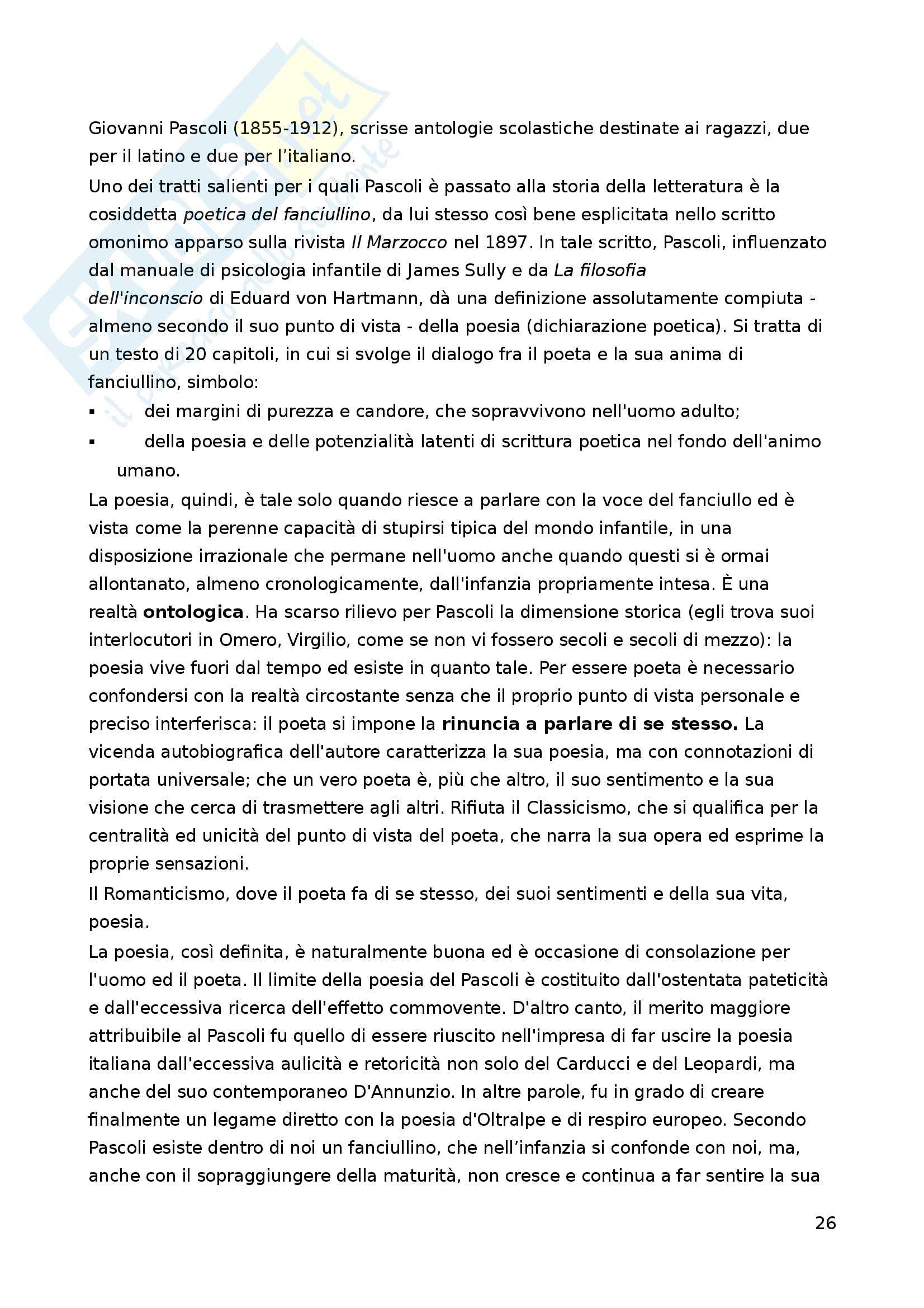 Riassunto esame Letteratura per l'Infanzia, prof. Boero, libro consigliato La Letteratura per l'Infanzia Pag. 26