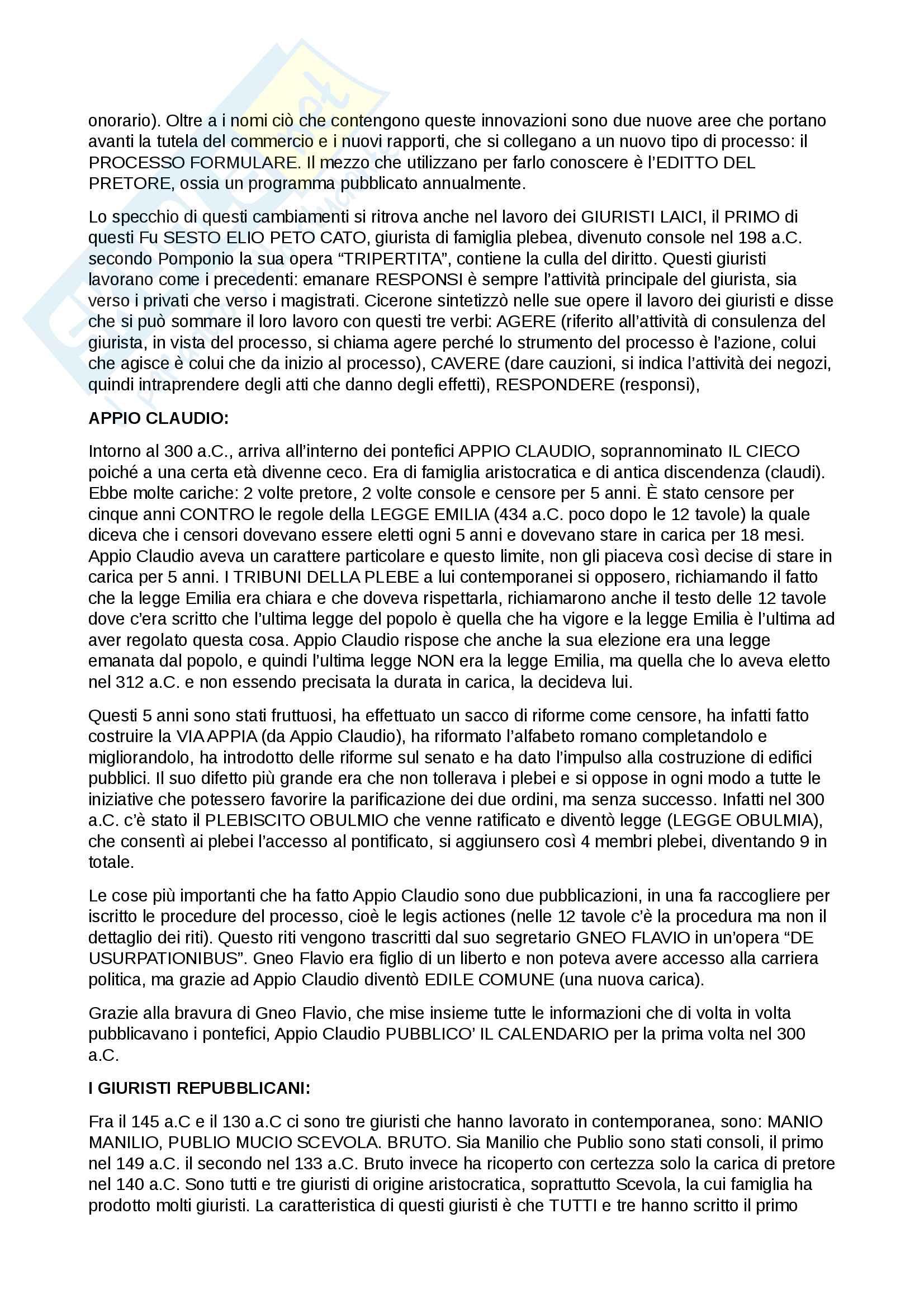 Appunti di Istituzioni di Diritto Romano (Parte Scritta) Pag. 16