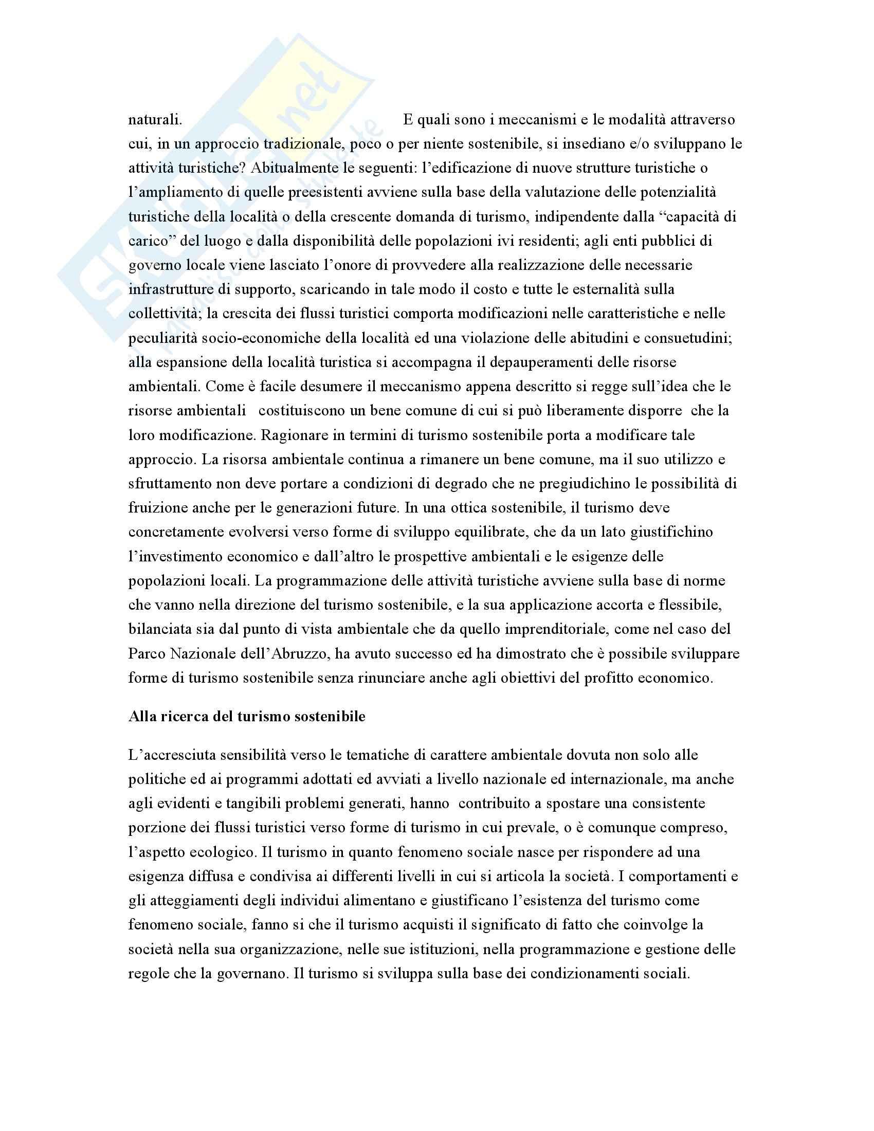 Sociologia del turismo - Appunti Pag. 11