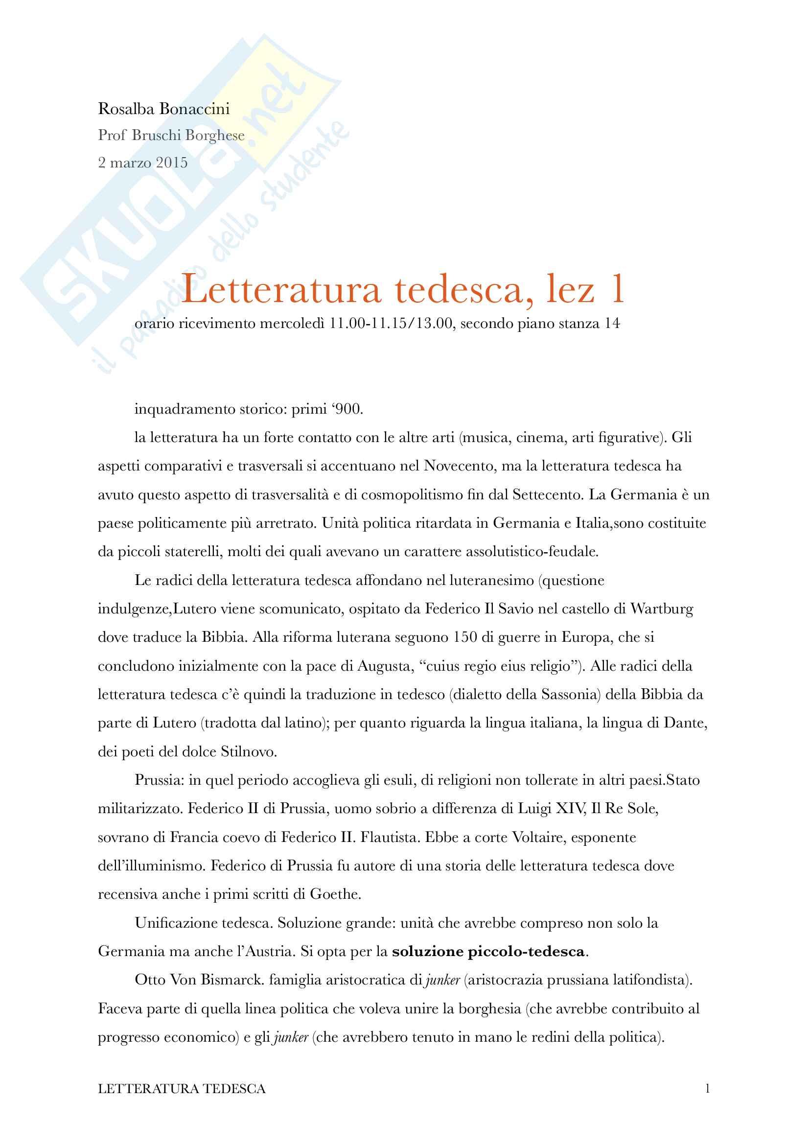Kafka e l'espressionismo tedesco